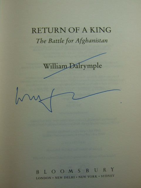 Photo of RETURN OF A KING: THE BATTLE FOR AFGHANISTAN written by Dalrymple, William published by Bloomsbury (STOCK CODE: 1804774)  for sale by Stella & Rose's Books