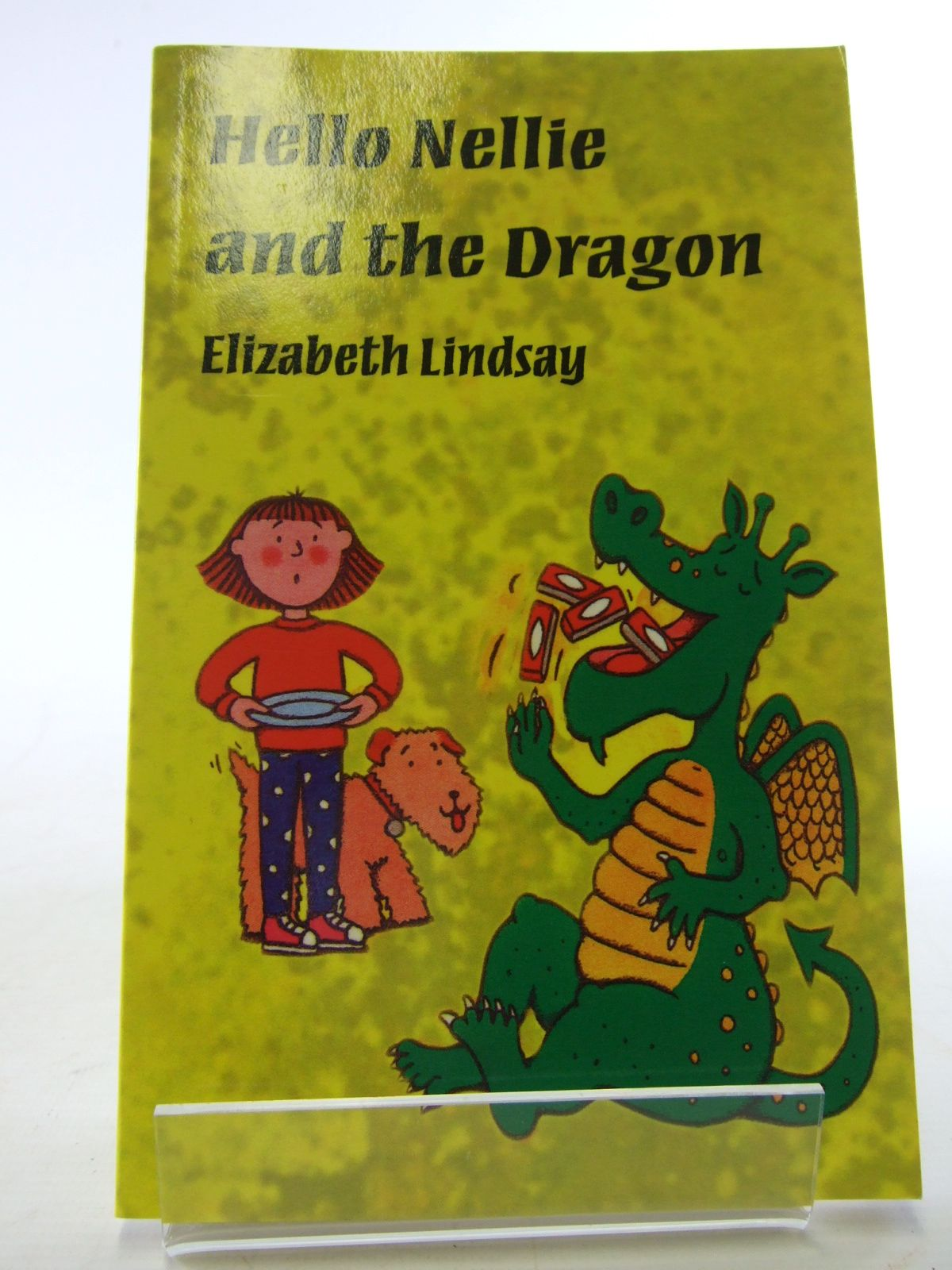 Photo of HELLO NELLIE AND THE DRAGON written by Lindsay, Elizabeth illustrated by Sharratt, Nick published by Back To Front (STOCK CODE: 1805505)  for sale by Stella & Rose's Books