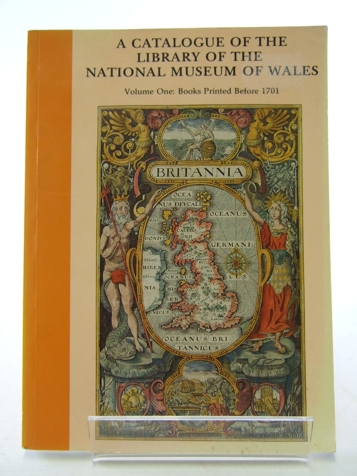 Photo of A CATALOGUE OF THE LIBRARY OF THE NATIONAL MUSEUM OF WALES VOLUME ONE: BOOKS PRINTED BEFORE 1701 written by Kenyon, John R. published by National Museum of Wales (STOCK CODE: 1805544)  for sale by Stella & Rose's Books