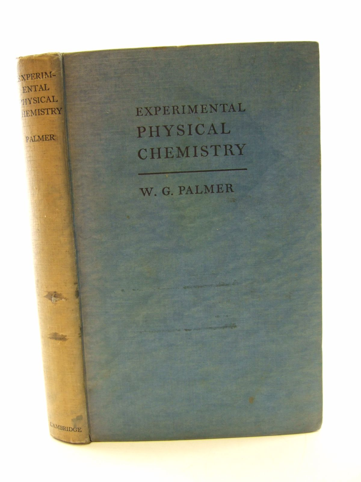 Photo of EXPERIMENTAL PHYSICAL CHEMISTRY written by Palmer, W.G. published by Cambridge University Press (STOCK CODE: 1805686)  for sale by Stella & Rose's Books