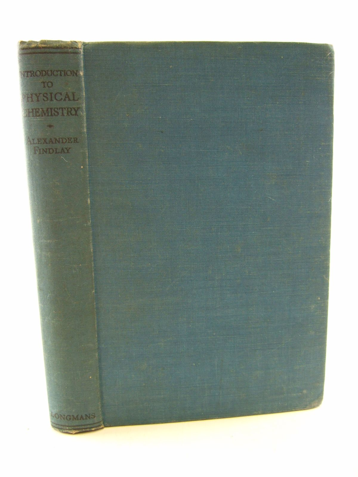 Photo of INTRODUCTION TO PHYSICAL CHEMISTRY written by Findlay, Alexander published by Longmans, Green & Co. (STOCK CODE: 1805692)  for sale by Stella & Rose's Books
