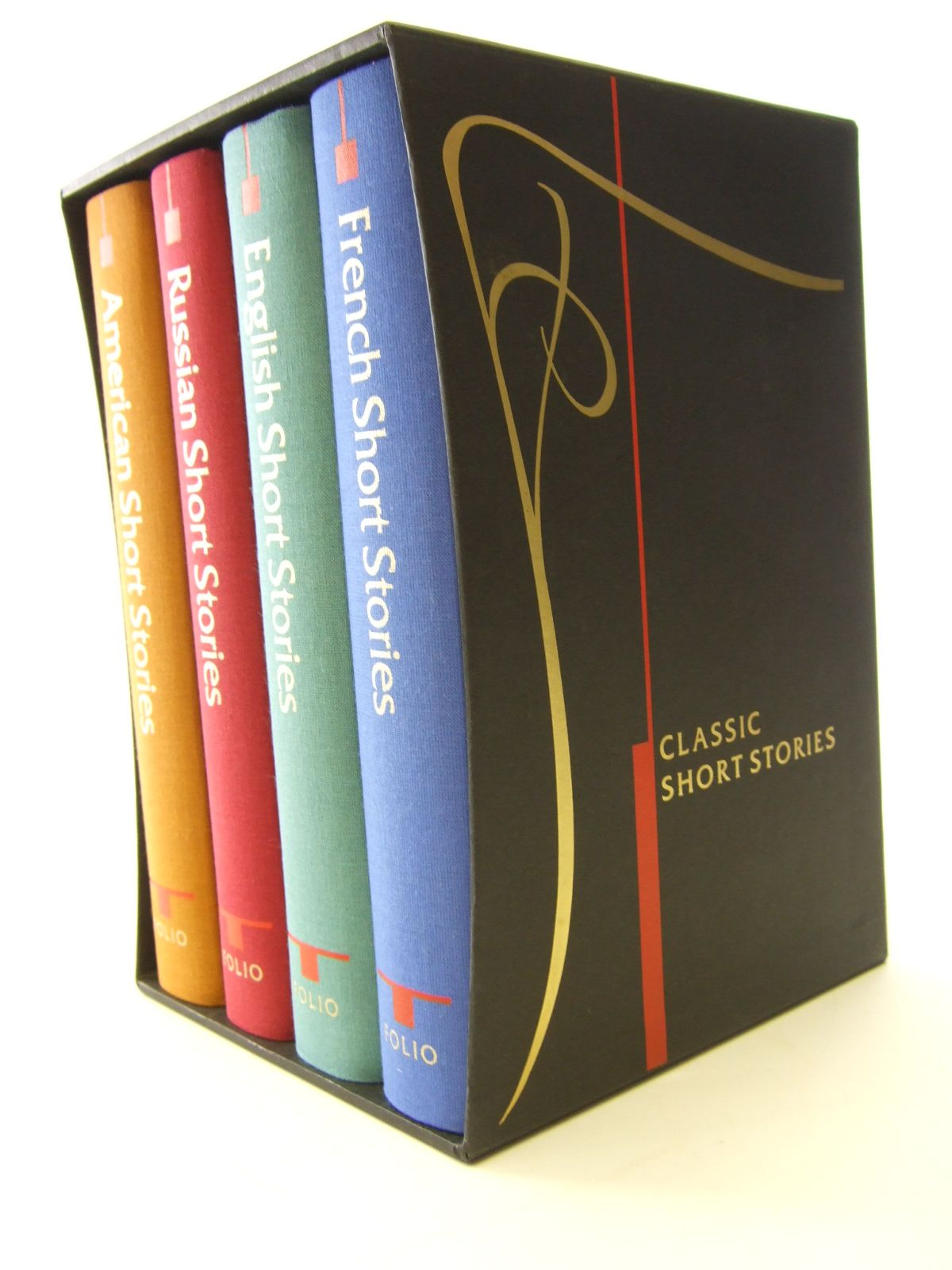 CLASSIC SHORT STORIES (4 VOLUMES) ENGLISH, RUSSIAN, AMERICAN ...
