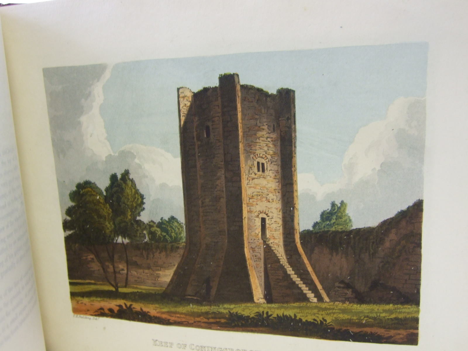 Photo of BRITISH CASTLES; OR, A COMPENDIOUS HISTORY OF THE ANCIENT MILITARY STRUCTURES OF GREAT BRITAIN written by Fielding, T.H. illustrated by Fielding, T.H. published by Howlett And Brimmer (STOCK CODE: 1805999)  for sale by Stella & Rose's Books