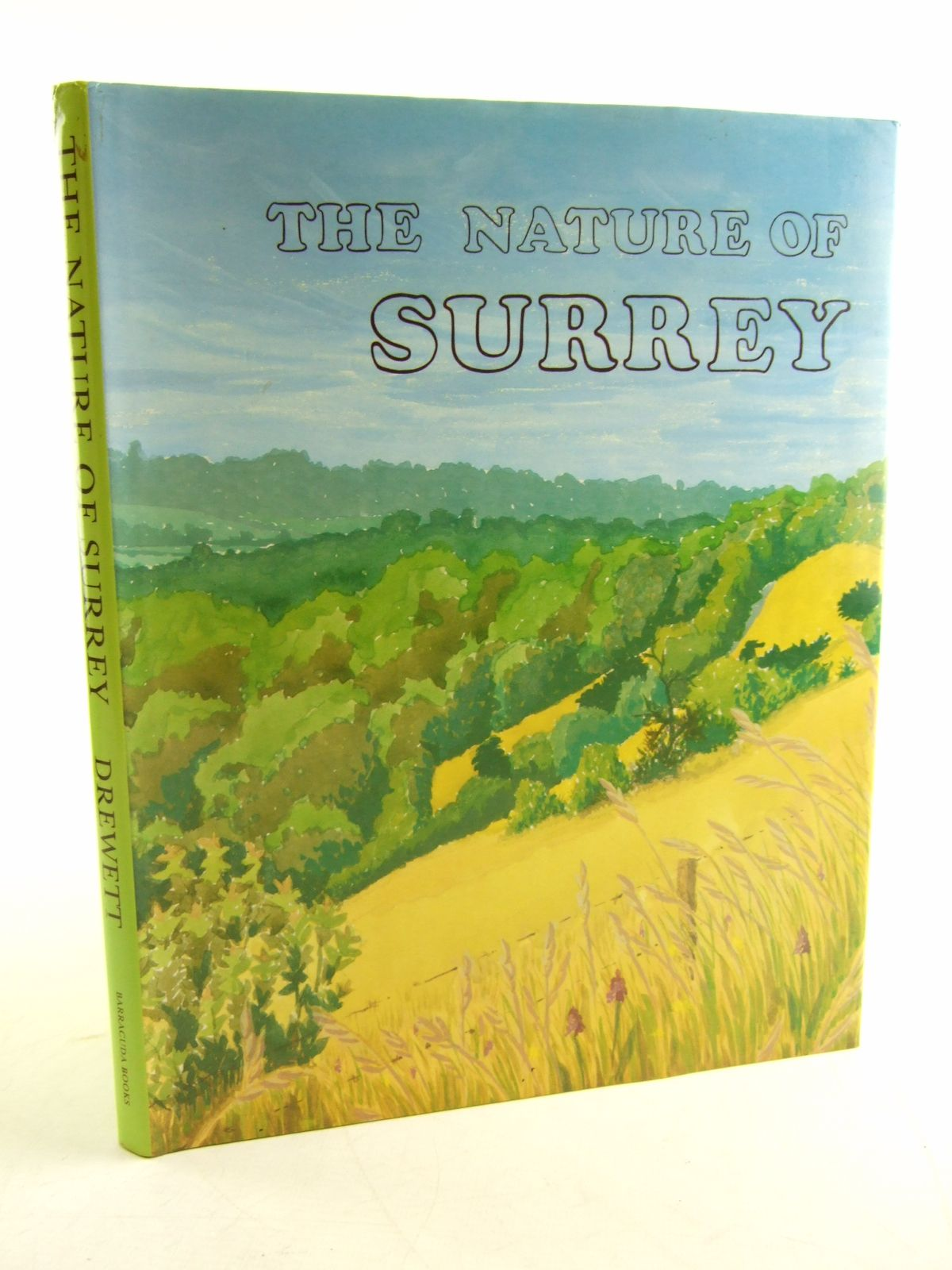 Photo of THE NATURE OF SURREY written by Drewett, John illustrated by Thompson, Rosalie S.<br />et al.,  published by Barracuda Books (STOCK CODE: 1806033)  for sale by Stella & Rose's Books