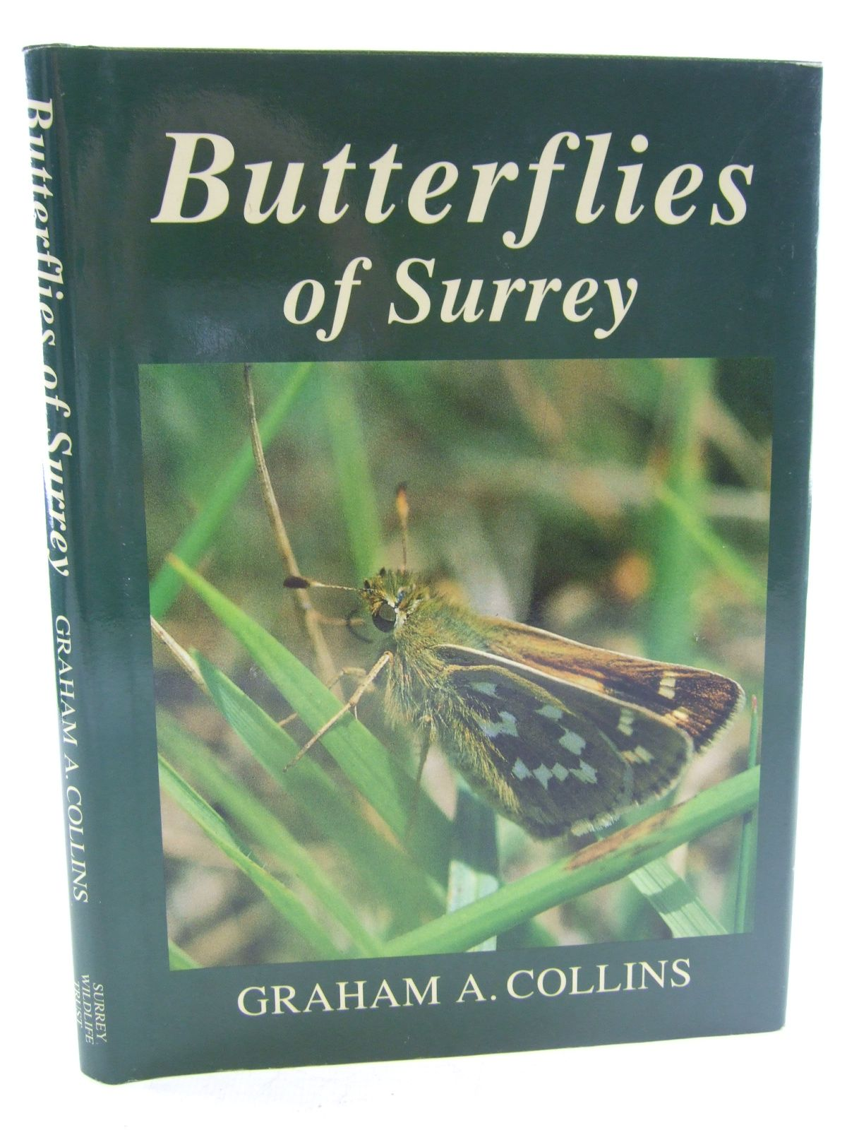 Photo of BUTTERFLIES OF SURREY written by Collins, Graham A. published by Surrey Wildlife Trust (STOCK CODE: 1806105)  for sale by Stella & Rose's Books