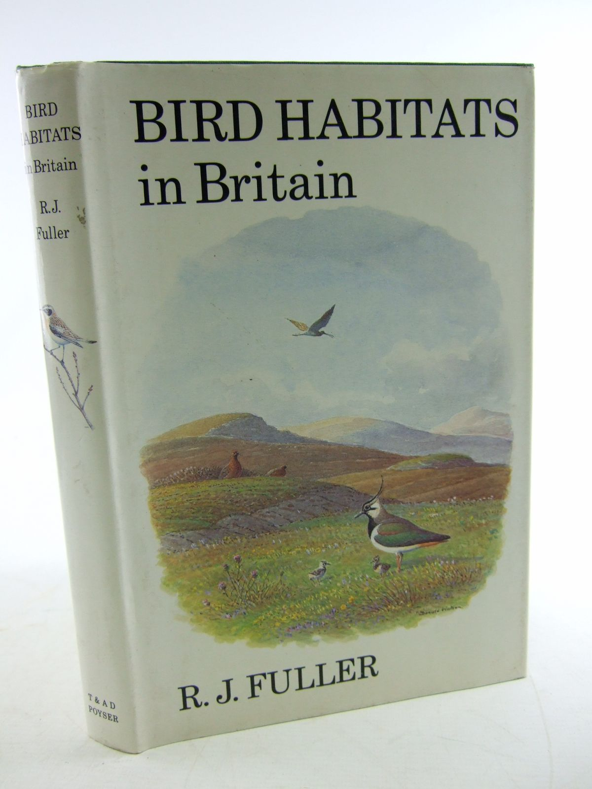 Photo of BIRD HABITATS IN BRITAIN written by Fuller, R.J. illustrated by Watson, Donald published by T. & A.D. Poyser (STOCK CODE: 1806148)  for sale by Stella & Rose's Books