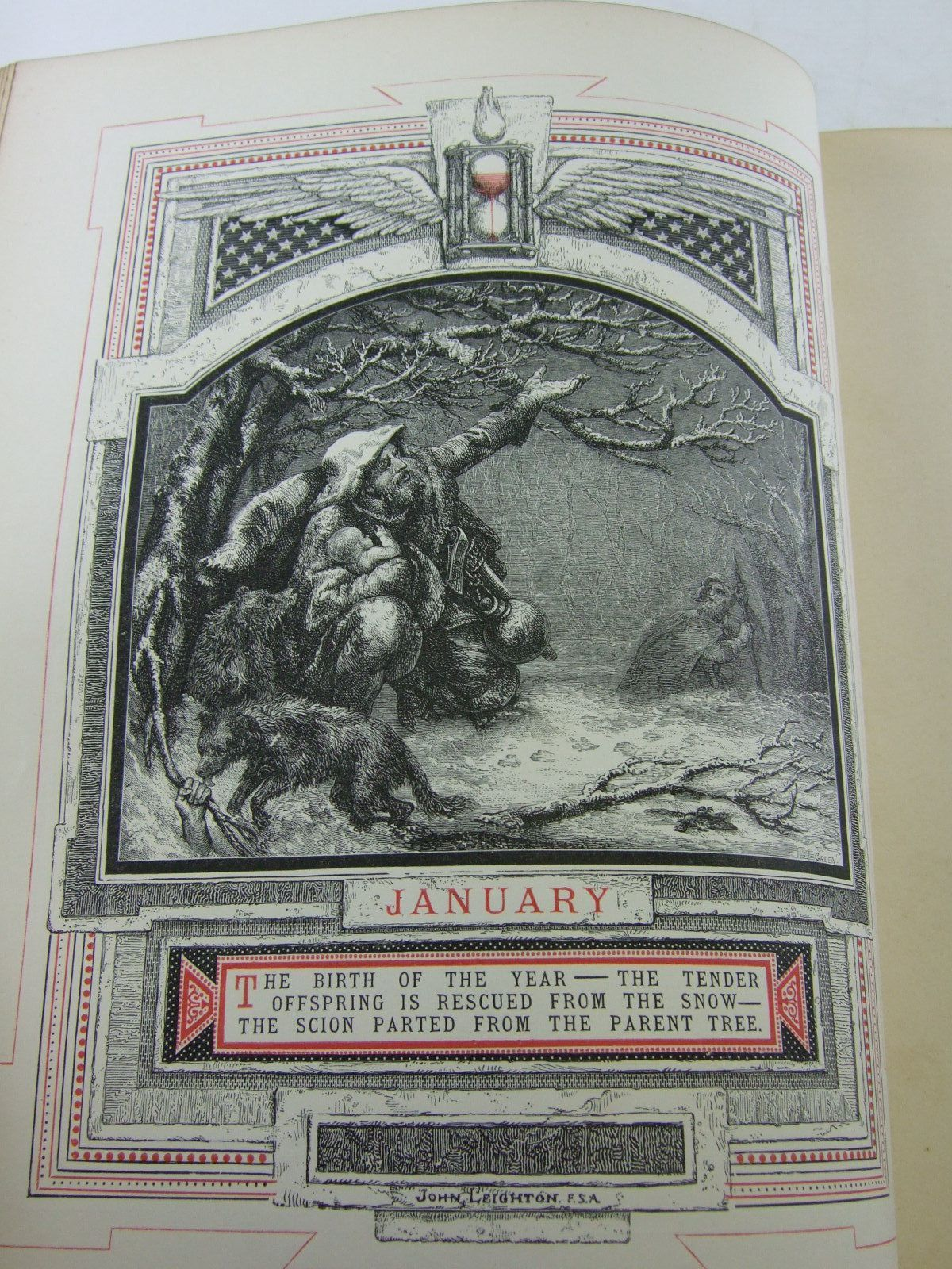 Photo of THE LIFE OF MAN SYMBOLISED BY MONTHS OF THE YEAR written by Pigot, Richard illustrated by Leighton, John published by Longmans, Green, Reader & Dyer (STOCK CODE: 1806272)  for sale by Stella & Rose's Books