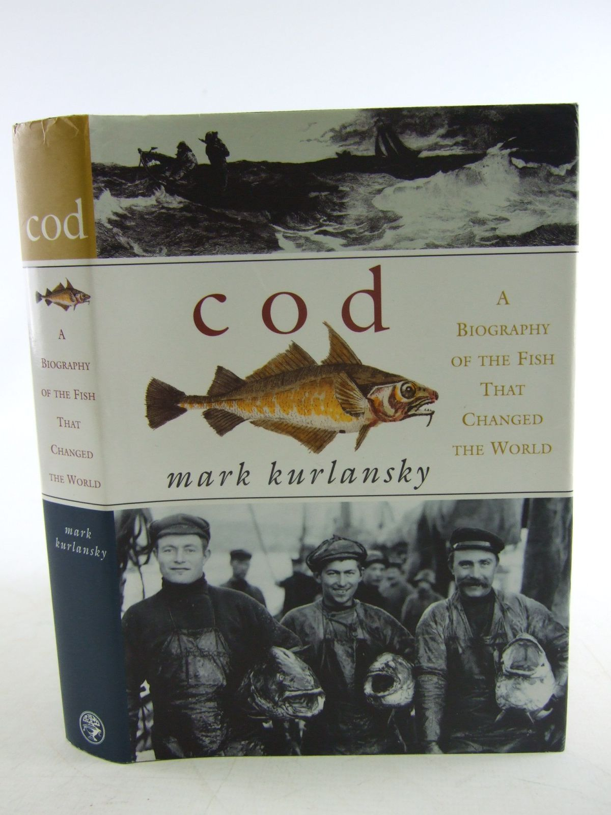 Photo of COD A BIOGRAPHY OF THE FISH THAT CHANGED THE WORLD written by Kurlansky, Mark published by Jonathan Cape (STOCK CODE: 1806291)  for sale by Stella & Rose's Books