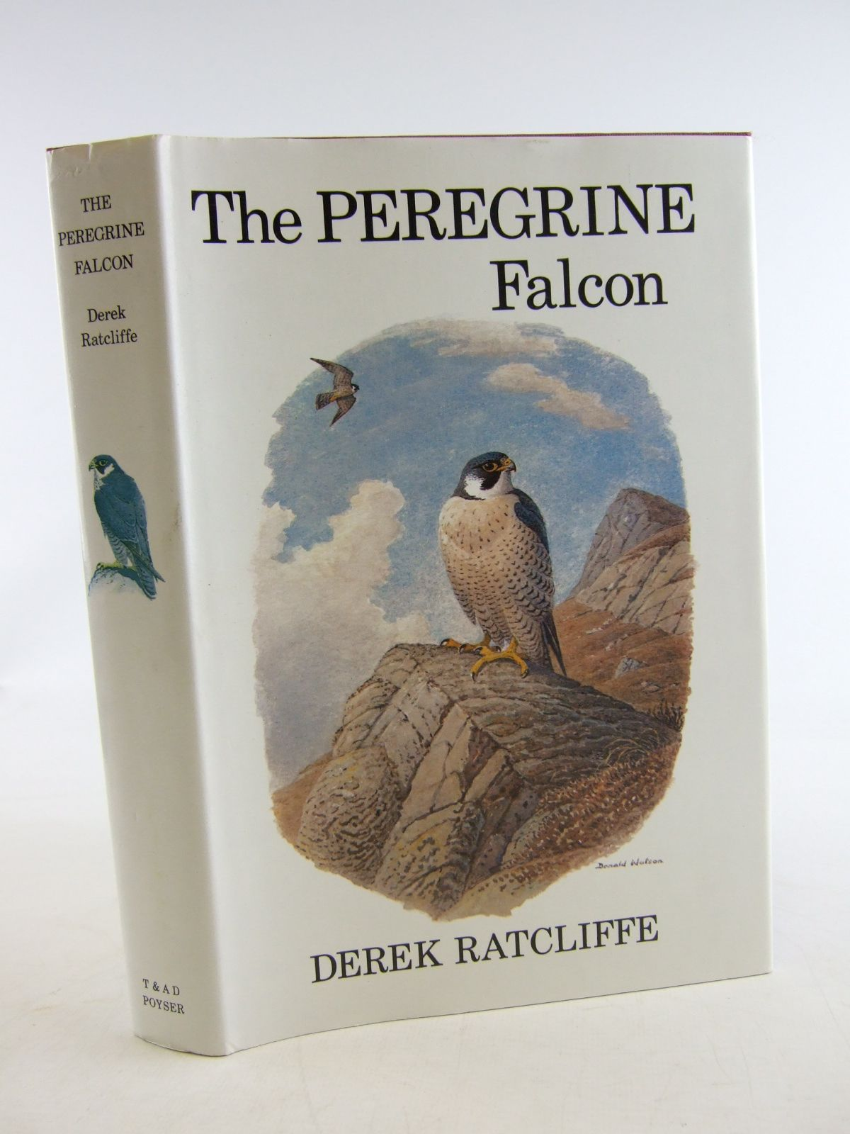 Photo of THE PEREGRINE FALCON written by Ratcliffe, Derek illustrated by Watson, Donald published by T. & A.D. Poyser (STOCK CODE: 1806345)  for sale by Stella & Rose's Books