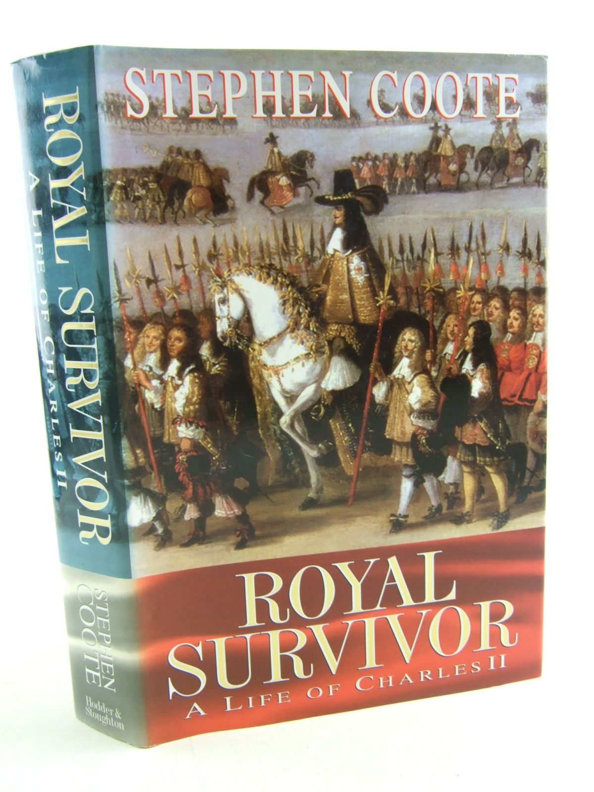 Photo of ROYAL SURVIVOR A LIFE OF CHARLES II written by Coote, Stephen published by Hodder & Stoughton (STOCK CODE: 1806412)  for sale by Stella & Rose's Books