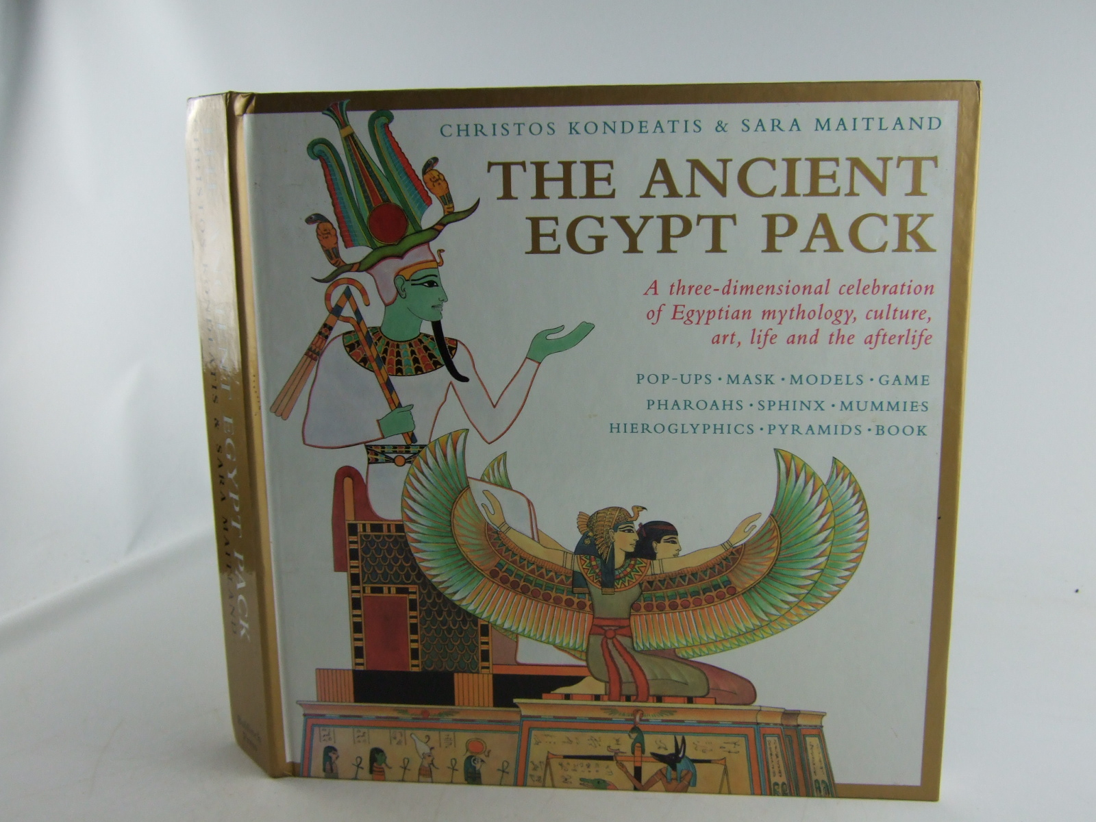 Photo of THE ANCIENT EGYPT PACK A THREE-DIMENSIONAL CELEBRATION OF EGYPTIAN MYTHOLOGY, CULTURE, ART, LIFE AND THE AFTERLIFE written by Maitland, Sara illustrated by Kondeatis, Christos published by Bulfinch Press (STOCK CODE: 1806430)  for sale by Stella & Rose's Books