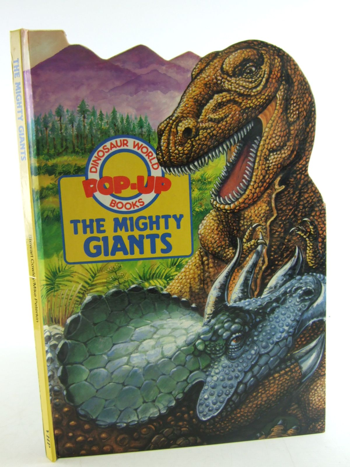 Photo of THE MIGHTY GIANTS DINOSAUR WORLD POP-UP BOOKS written by Cowley, Stewart illustrated by Peterkin, Mike published by Victoria House Publishing (STOCK CODE: 1806510)  for sale by Stella & Rose's Books