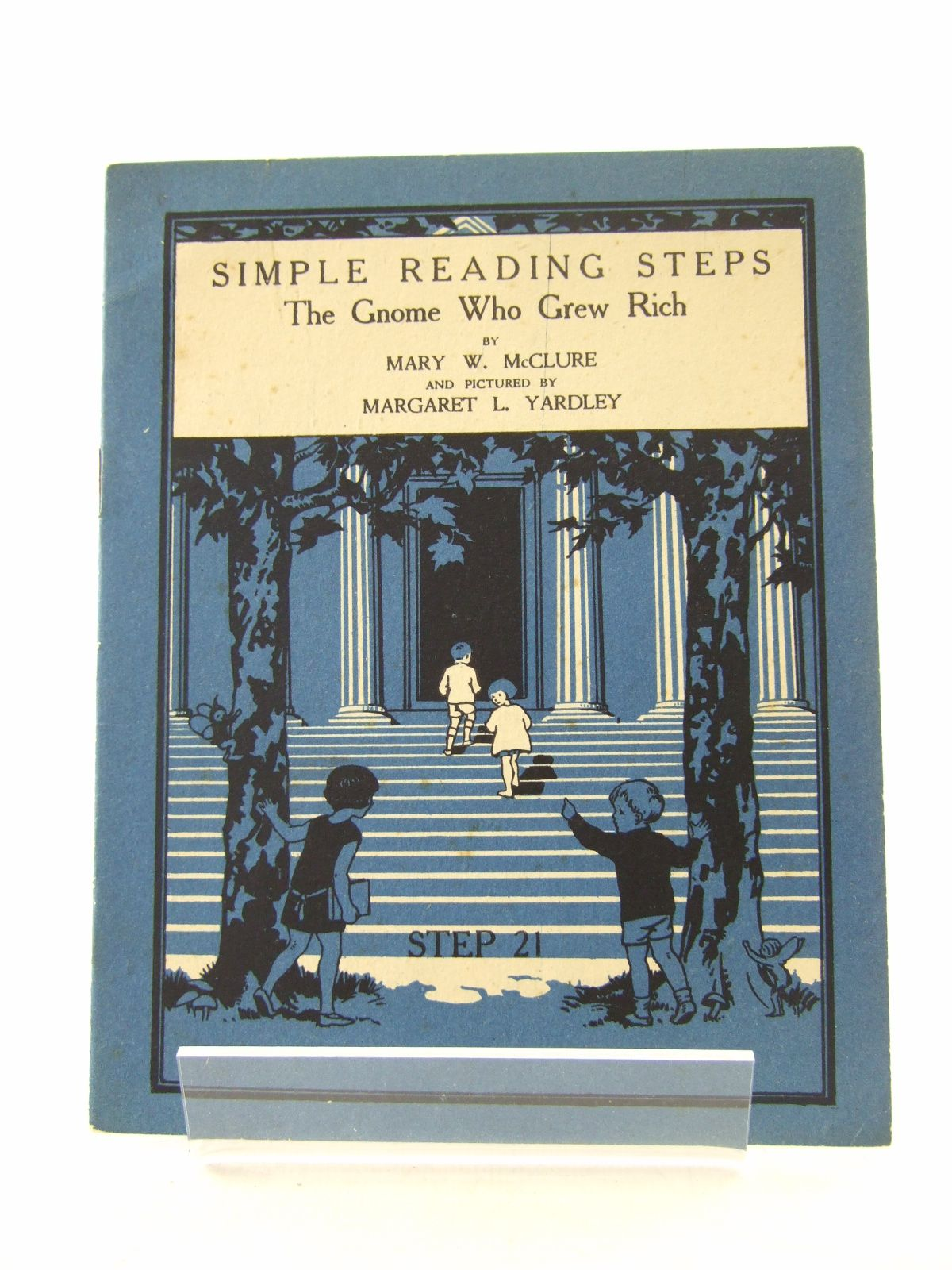 Photo of SIMPLE READING STEPS: THE GNOME WHO GREW RICH written by McClure, Mary W. illustrated by Yardley, Margaret L. (STOCK CODE: 1806819)  for sale by Stella & Rose's Books