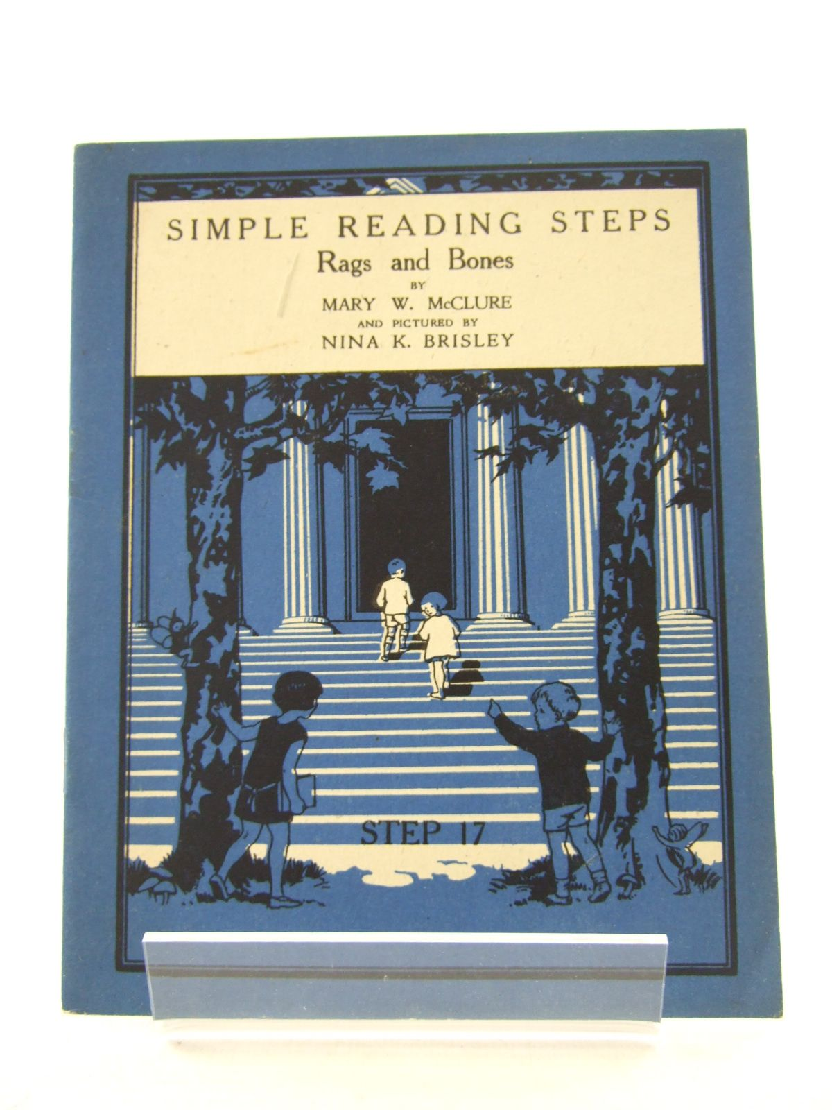 Photo of SIMPLE READING STEPS: RAGS AND BONES written by McClure, Mary W. illustrated by Brisley, Nina K. (STOCK CODE: 1806821)  for sale by Stella & Rose's Books