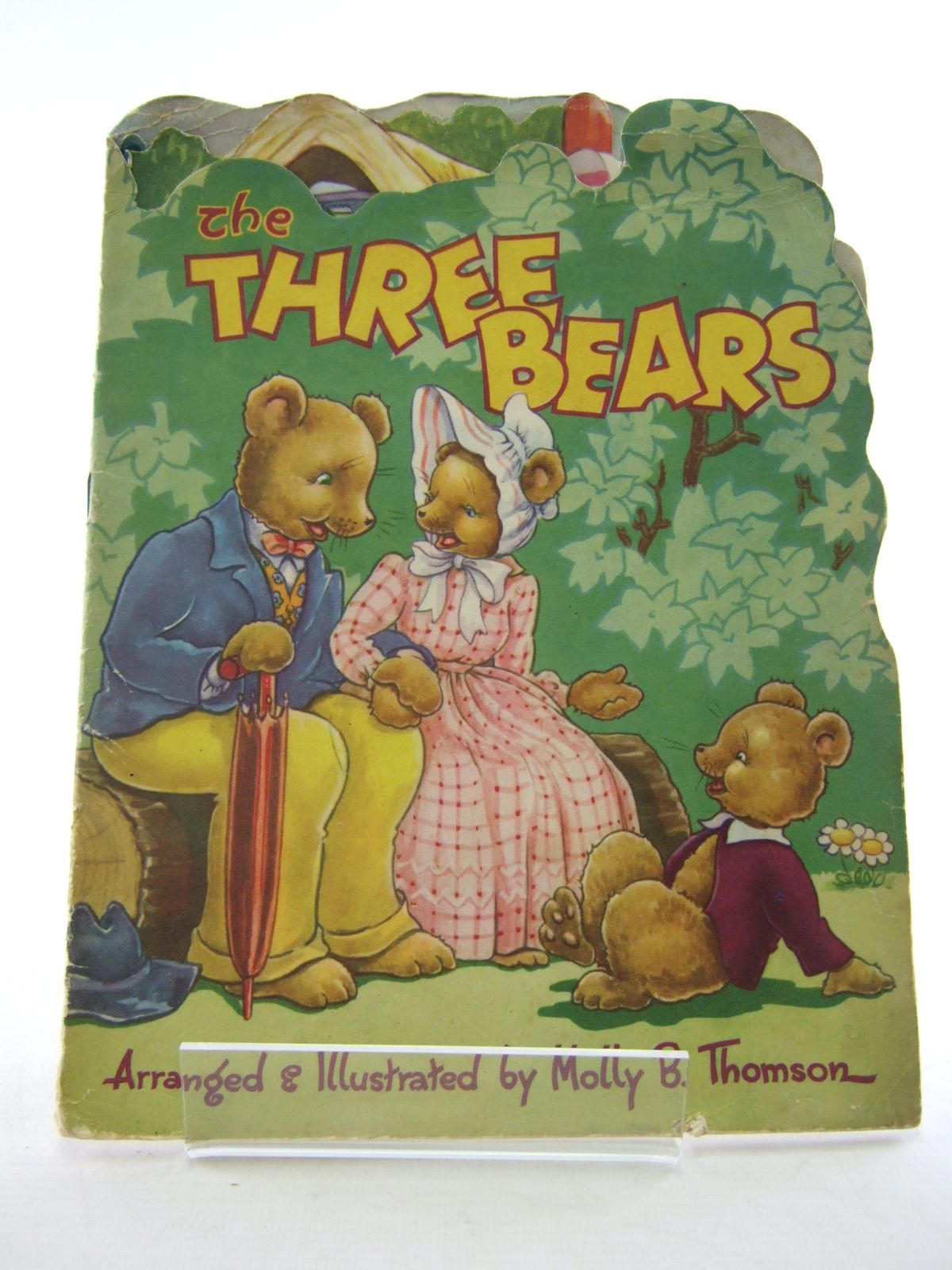 Photo of THE THREE BEARS written by Thomson, Molly B. illustrated by Thomson, Molly published by Collins Clear-Type Press (STOCK CODE: 1806828)  for sale by Stella & Rose's Books