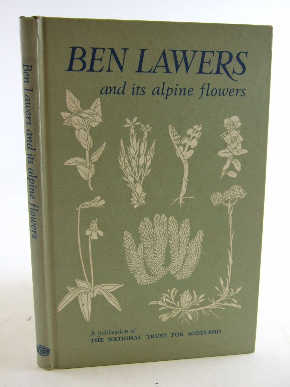 Photo of BEN LAWERS AND ITS ALPINE FLOWERS published by The National Trust For Scotland (STOCK CODE: 1806938)  for sale by Stella & Rose's Books