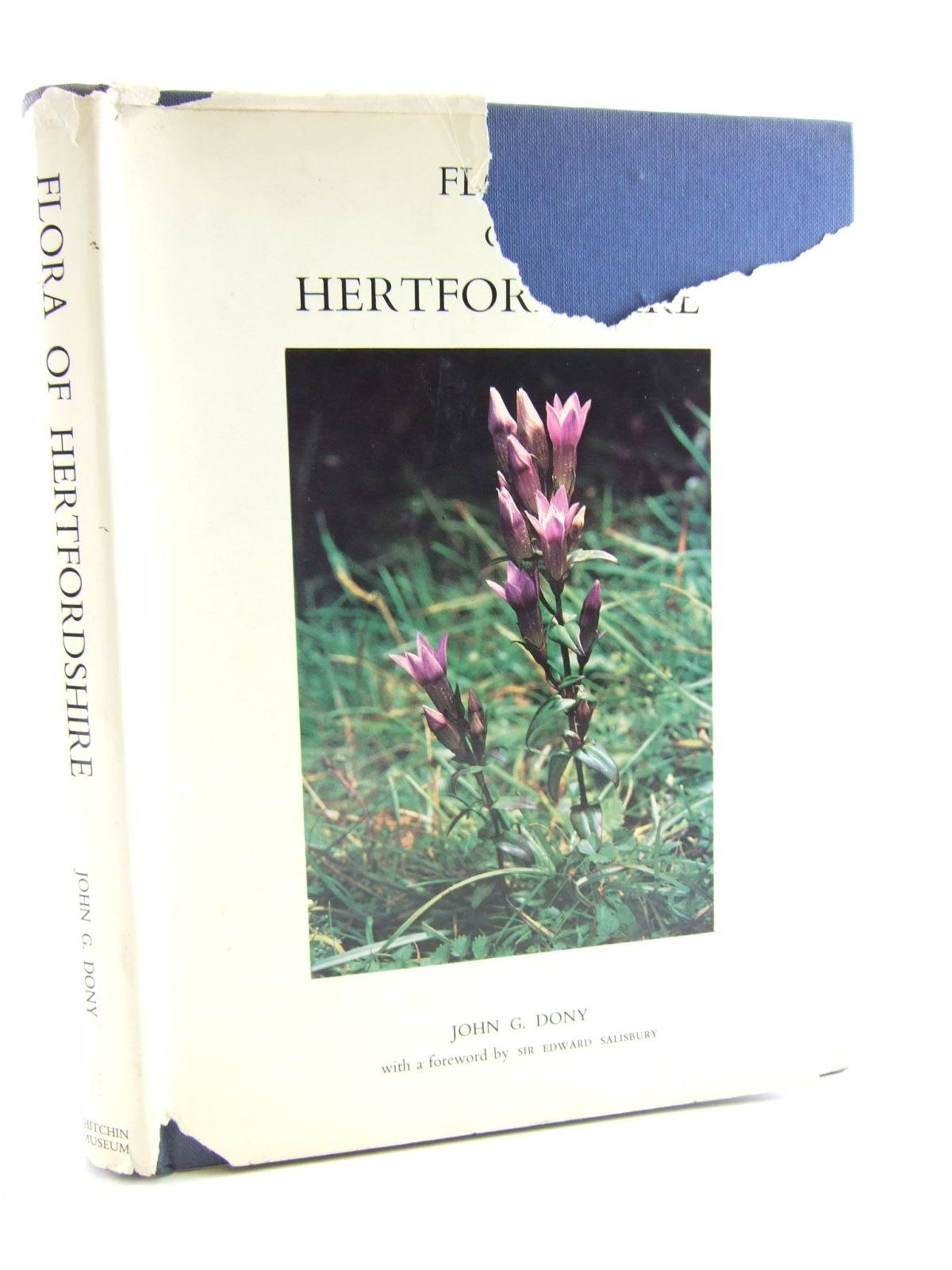 Photo of FLORA OF HERTFORDSHIRE written by Dony, John G. published by Hitchin UDC (STOCK CODE: 1806949)  for sale by Stella & Rose's Books