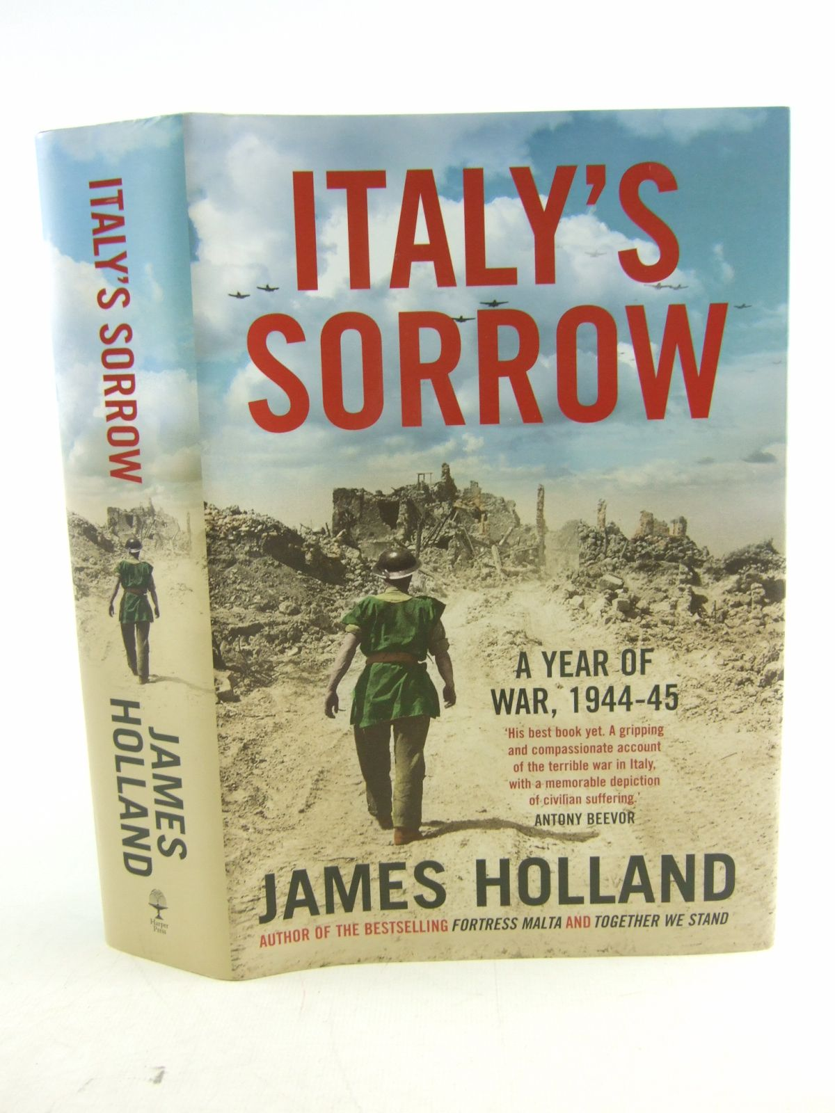 Photo of ITALY'S SORROW A YEAR OF WAR 1944-1945 written by Holland, James published by Harper Press (STOCK CODE: 1806951)  for sale by Stella & Rose's Books
