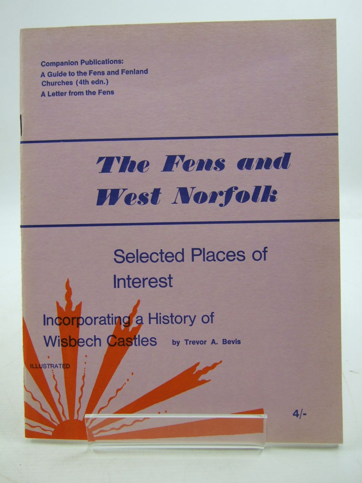 Photo of THE FENS & WEST NORFOLK SELECTED PLACES OF INTEREST written by Bevis, Trevor A. published by Trevor A. Bevis (STOCK CODE: 1807168)  for sale by Stella & Rose's Books