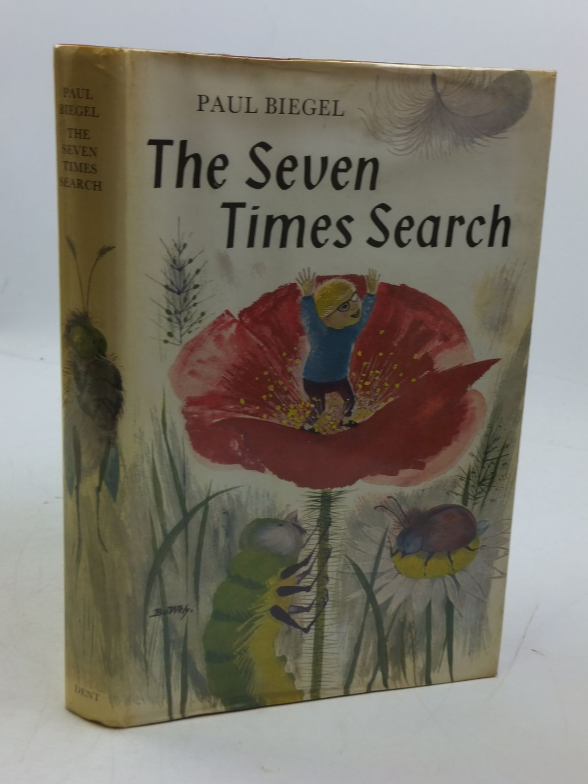 Photo of THE SEVEN-TIMES SEARCH written by Biegel, Paul<br />Hume, Gillian illustrated by Wely, Van published by J.M. Dent & Sons Ltd. (STOCK CODE: 1807417)  for sale by Stella & Rose's Books