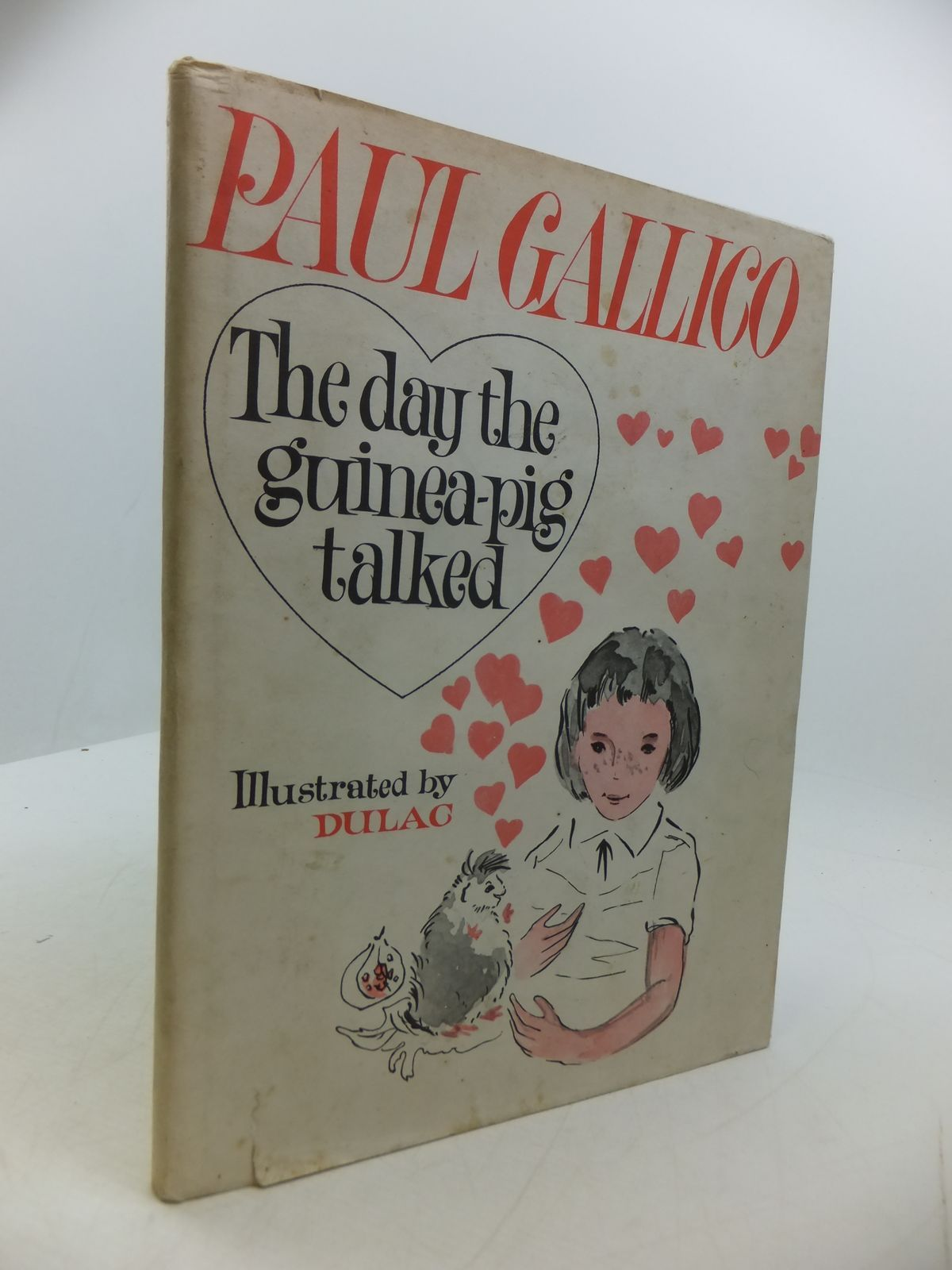 Photo of THE DAY THE GUINEA-PIG TALKED written by Gallico, Paul illustrated by Dulac,  published by Heinemann (STOCK CODE: 1807476)  for sale by Stella & Rose's Books