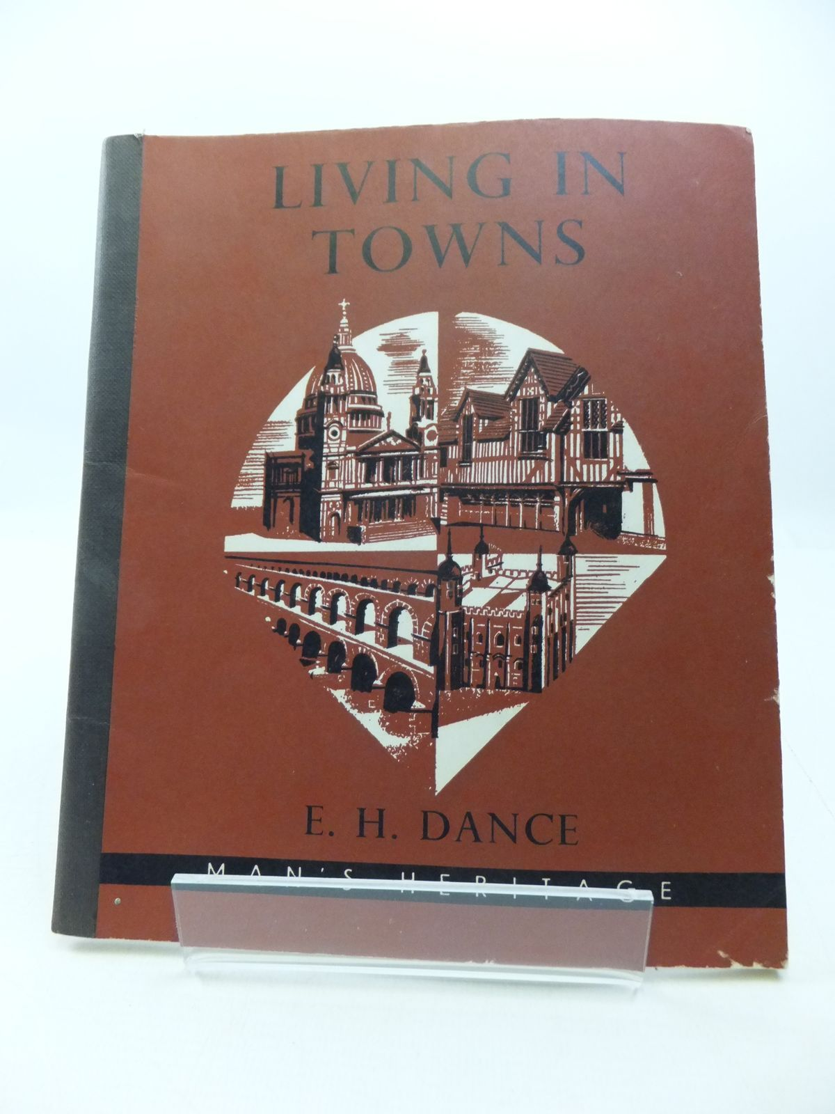 Photo of LIVING TOWNS written by Dance, E.H. illustrated by McBeath, H.C. published by Longmans (STOCK CODE: 1807539)  for sale by Stella & Rose's Books