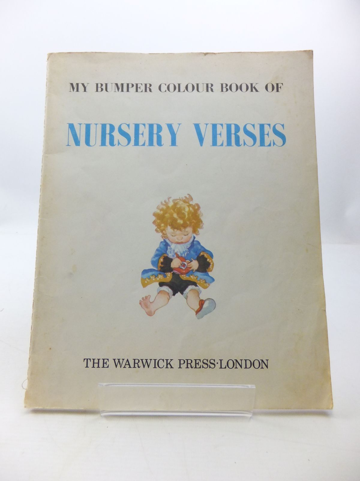 Photo of MY BUMPER COLOUR BOOK OF NURSERY VERSES published by The Warwick Press (STOCK CODE: 1807544)  for sale by Stella & Rose's Books