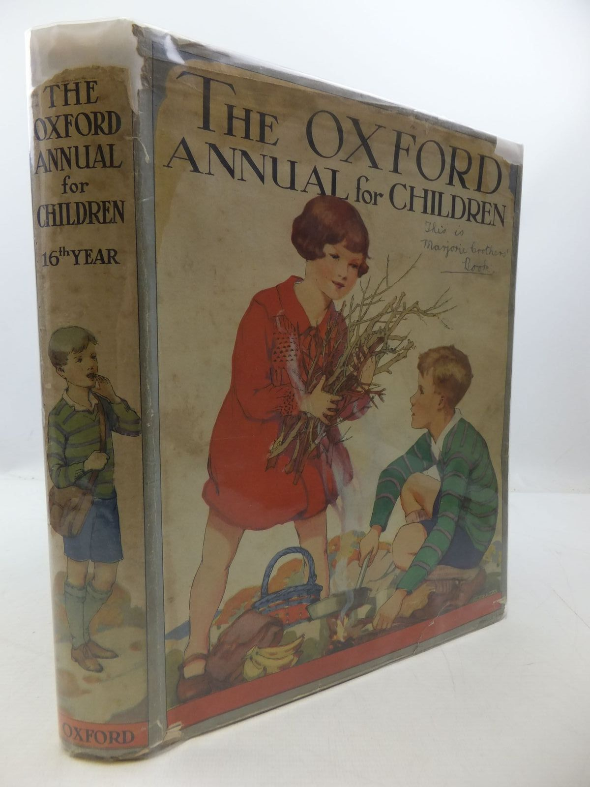 Photo of THE OXFORD ANNUAL FOR CHILDREN written by Harrison, Florence<br />Methley, Violet M.<br />Strang, Herbert<br />et al,  illustrated by Reeve, Mary S.<br />Brock, C.E.<br />Sowerby, Millicent<br />et al.,  published by Humphrey Milford, Oxford University Press (STOCK CODE: 1807693)  for sale by Stella & Rose's Books