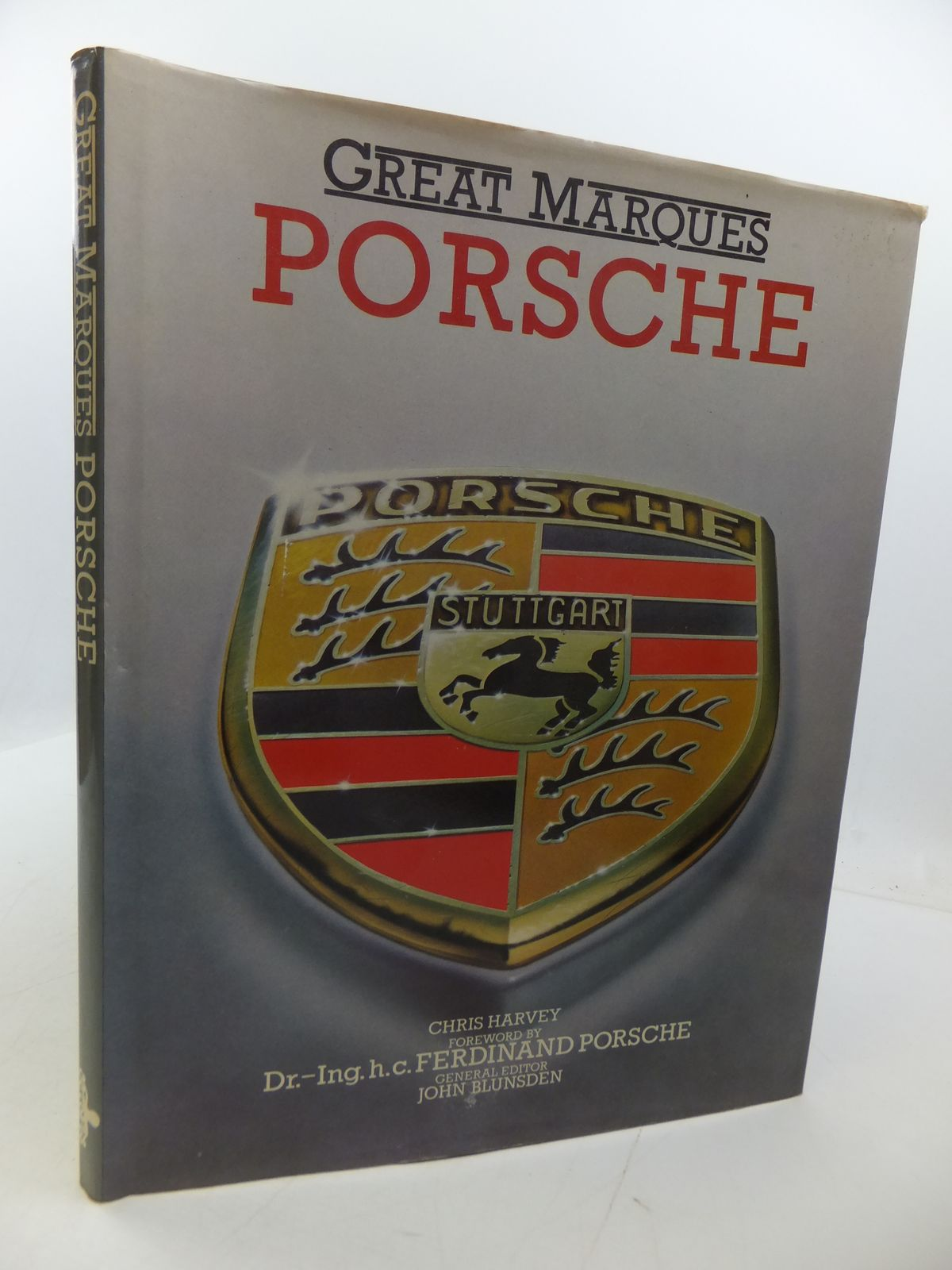 Photo of GREAT MARQUES PORSCHE written by Harvey, Chris published by Octopus (STOCK CODE: 1807696)  for sale by Stella & Rose's Books