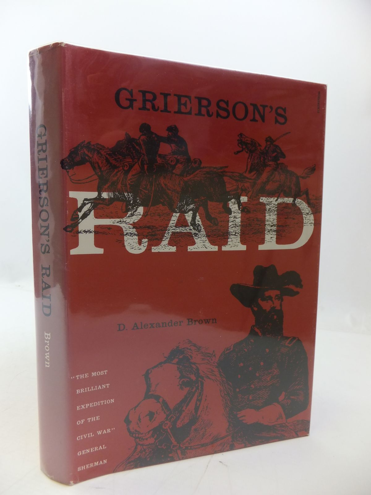 Photo of GRIERSON'S RAID written by Brown, D. Alexander published by Morningside Bookshop (STOCK CODE: 1807978)  for sale by Stella & Rose's Books