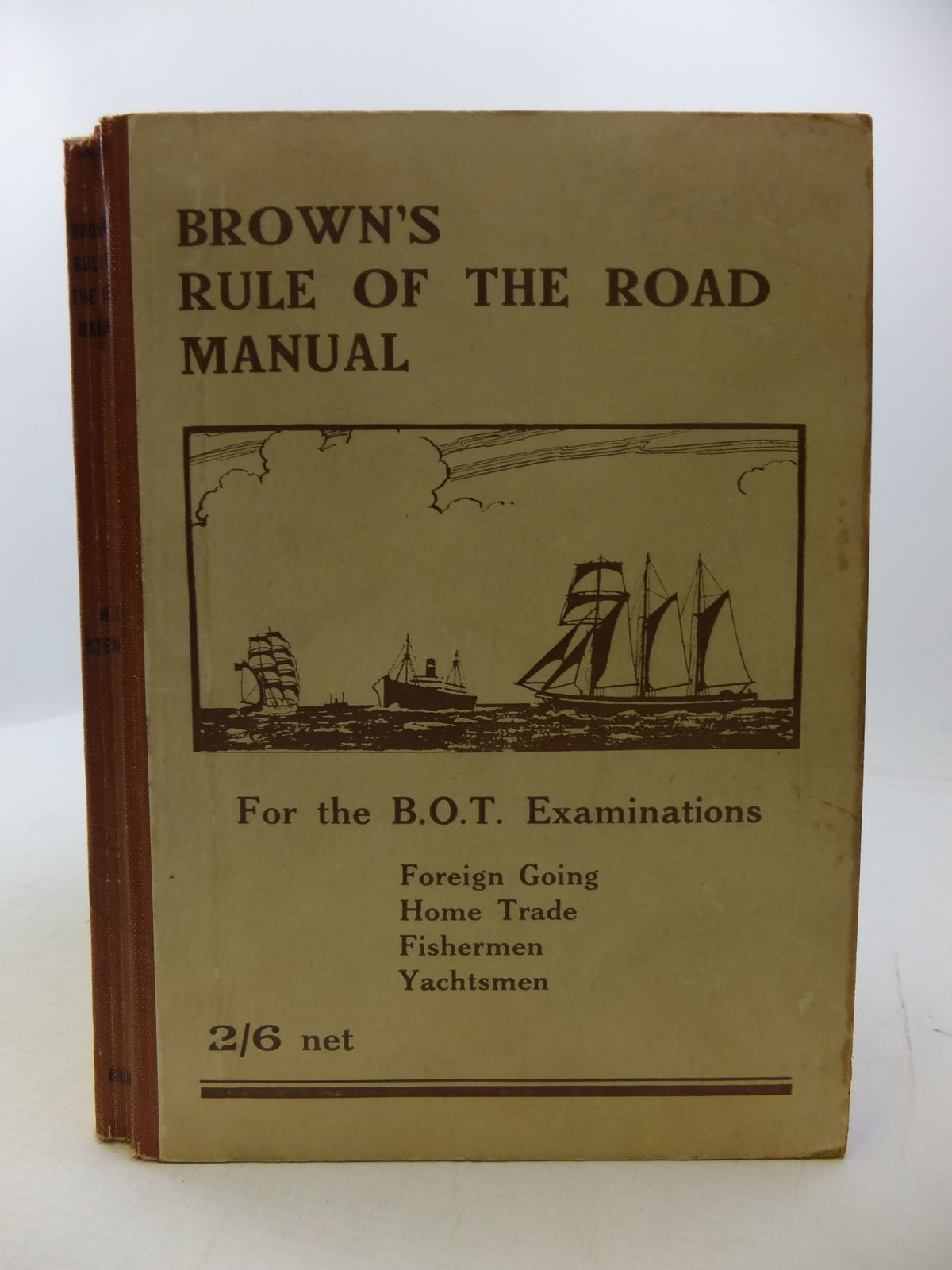 Photo of BROWN'S RULE OF THE ROAD MANUAL: THE RULE OF THE ROAD AT SEA written by Stewart, W.K. published by Brown, Son & Ferguson Ltd. (STOCK CODE: 1808152)  for sale by Stella & Rose's Books