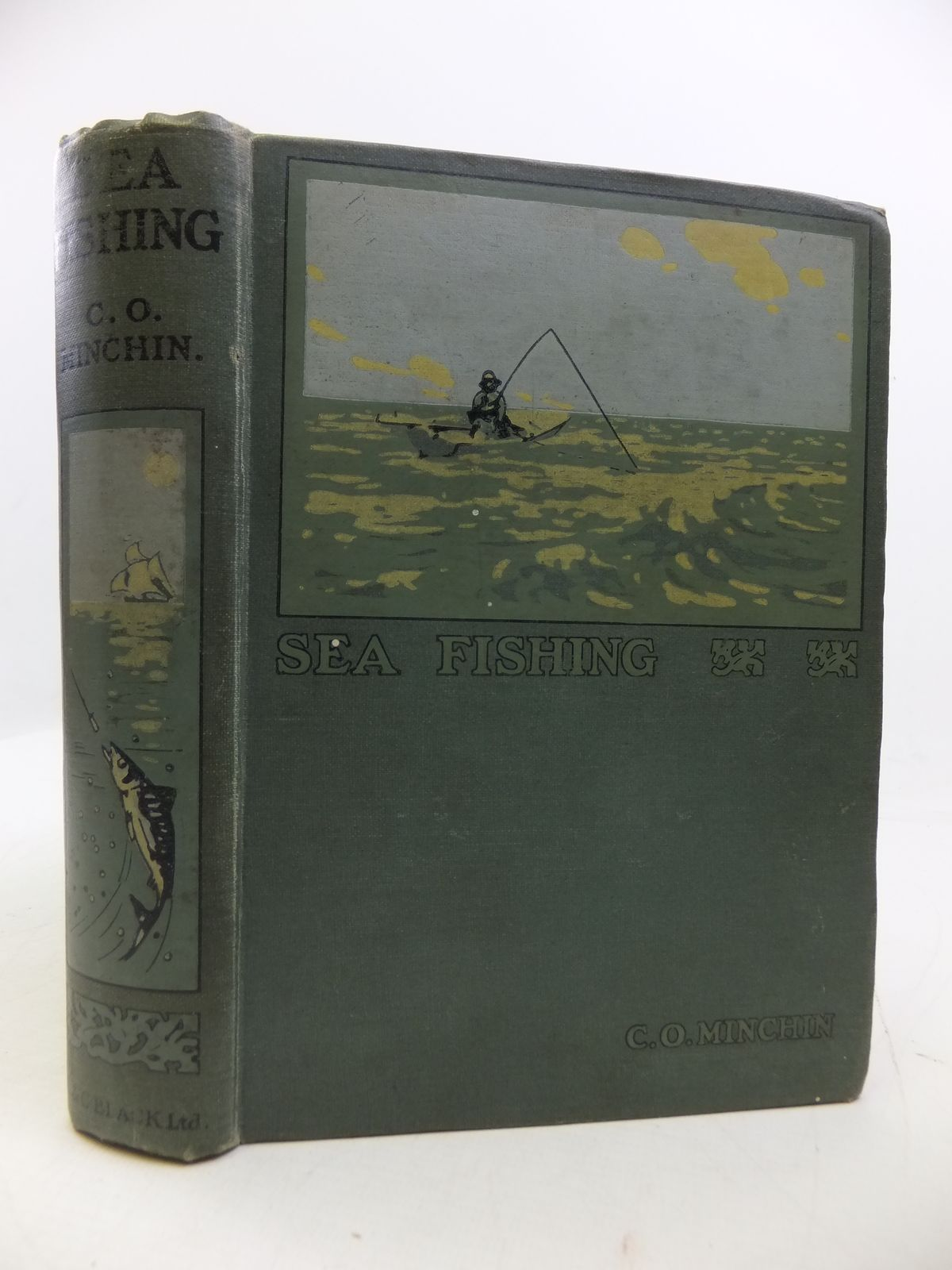 Photo of SEA-FISHING written by Minchin, C.O. published by Adam & Charles Black (STOCK CODE: 1808194)  for sale by Stella & Rose's Books