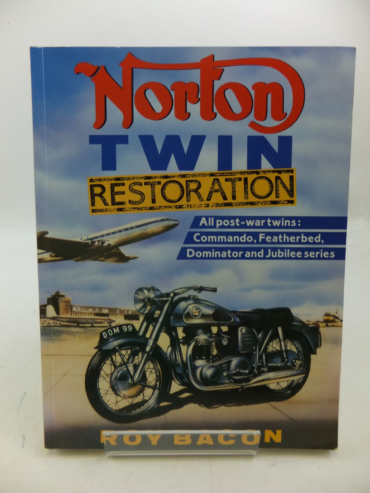 Photo of NORTON TWIN RESTORATION written by Bacon, Roy published by Menoshire (STOCK CODE: 1808238)  for sale by Stella & Rose's Books