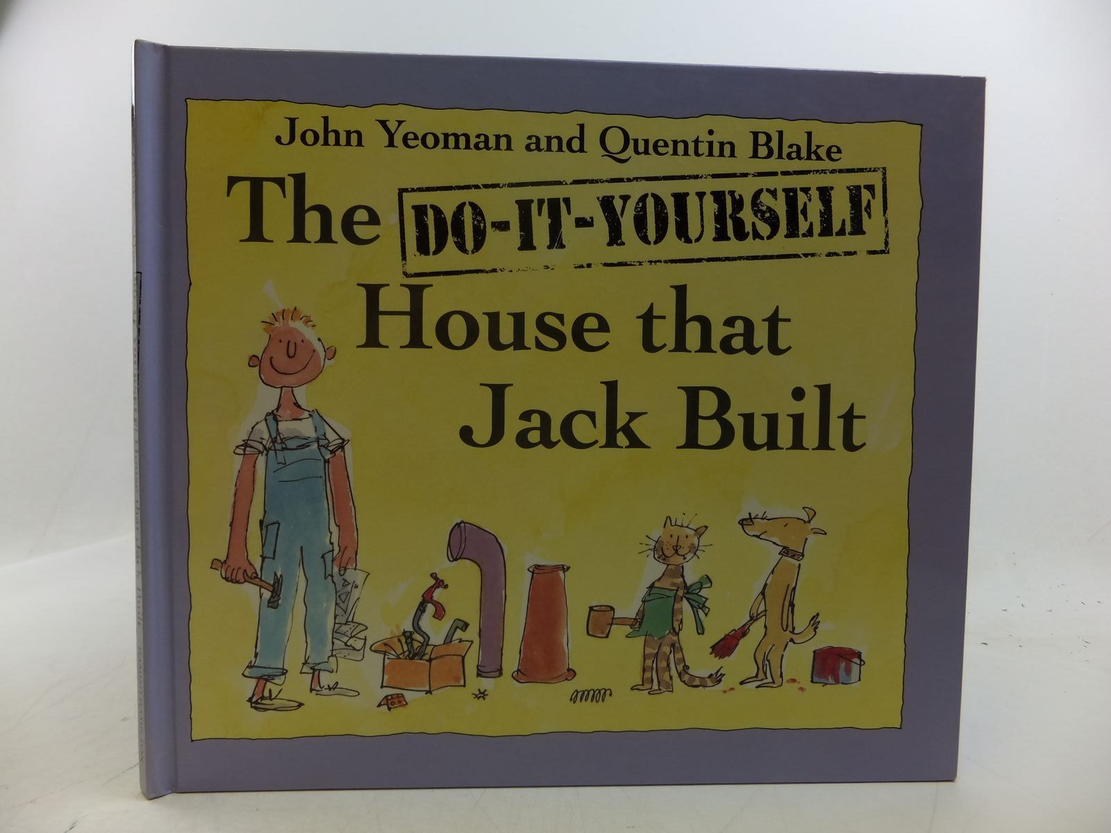 Photo of THE DO-IT-YOURSELF HOUSE THAT JACK BUILT written by Yeoman, John illustrated by Blake, Quentin published by Hamish Hamilton (STOCK CODE: 1808537)  for sale by Stella & Rose's Books