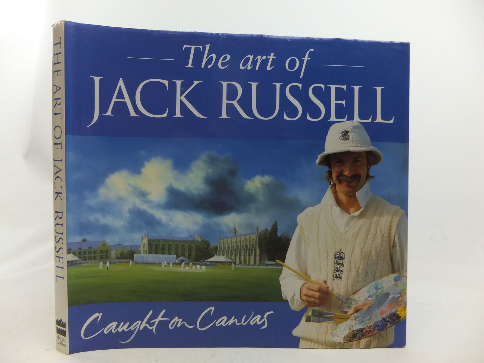 Photo of THE ART OF JACK RUSSELL: CAUGHT ON CANVAS written by Russell, Jack illustrated by Russell, Jack published by Harper Collins (STOCK CODE: 1808595)  for sale by Stella & Rose's Books