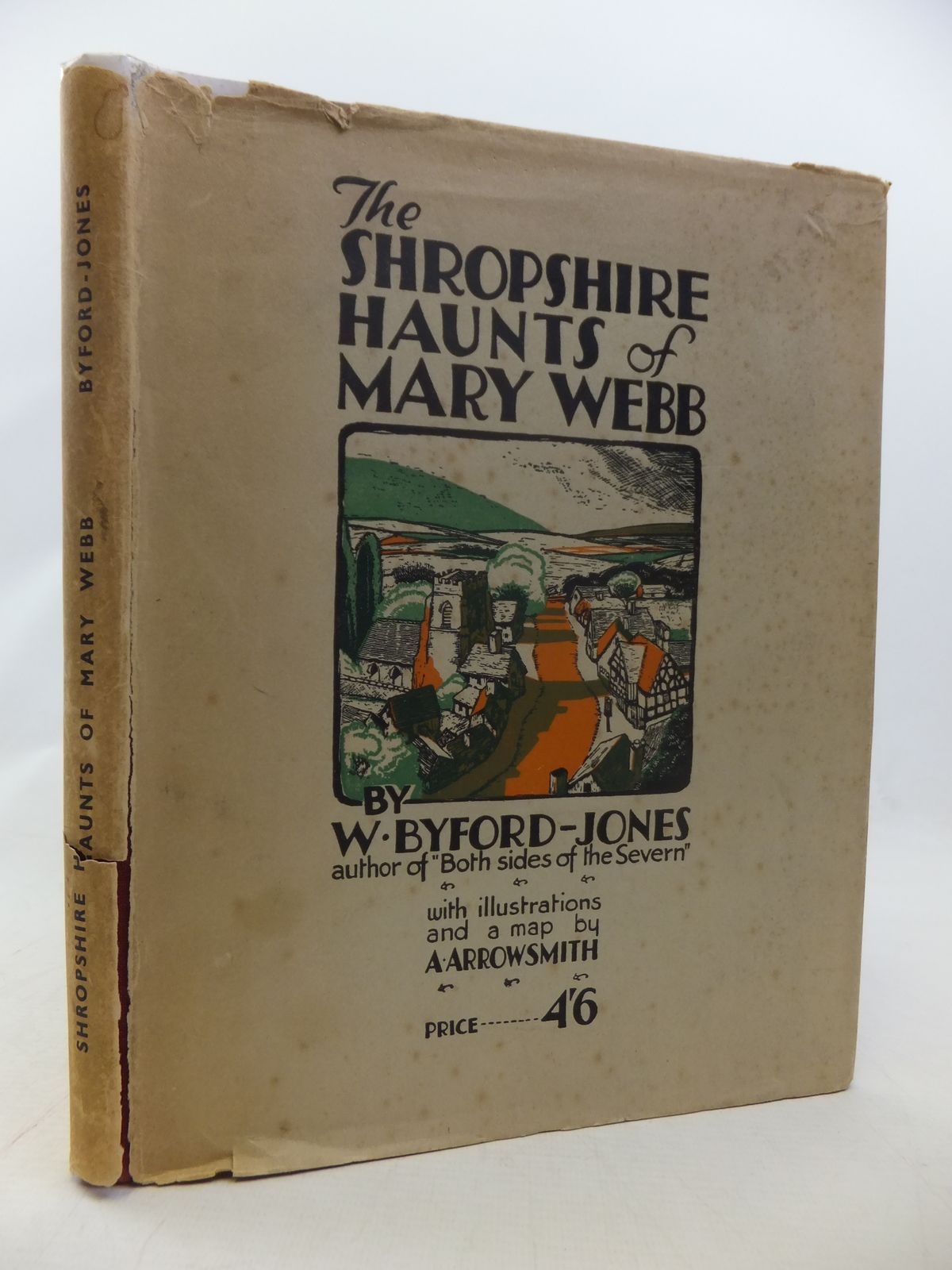 Photo of THE SHROPSHIRE HAUNTS OF MARY WEBB written by Byford-Jones, Wilfred illustrated by Arrowsmith, A. published by Wilding & Son Ltd. (STOCK CODE: 1808938)  for sale by Stella & Rose's Books