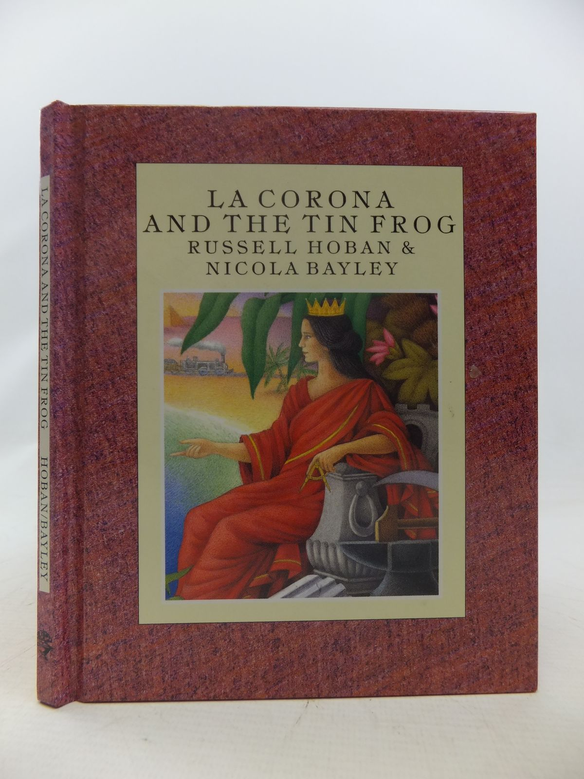 Photo of LA CORONA AND THE TIN FROG written by Hoban, Russell illustrated by Bayley, Nicola published by Jonathan Cape (STOCK CODE: 1808945)  for sale by Stella & Rose's Books
