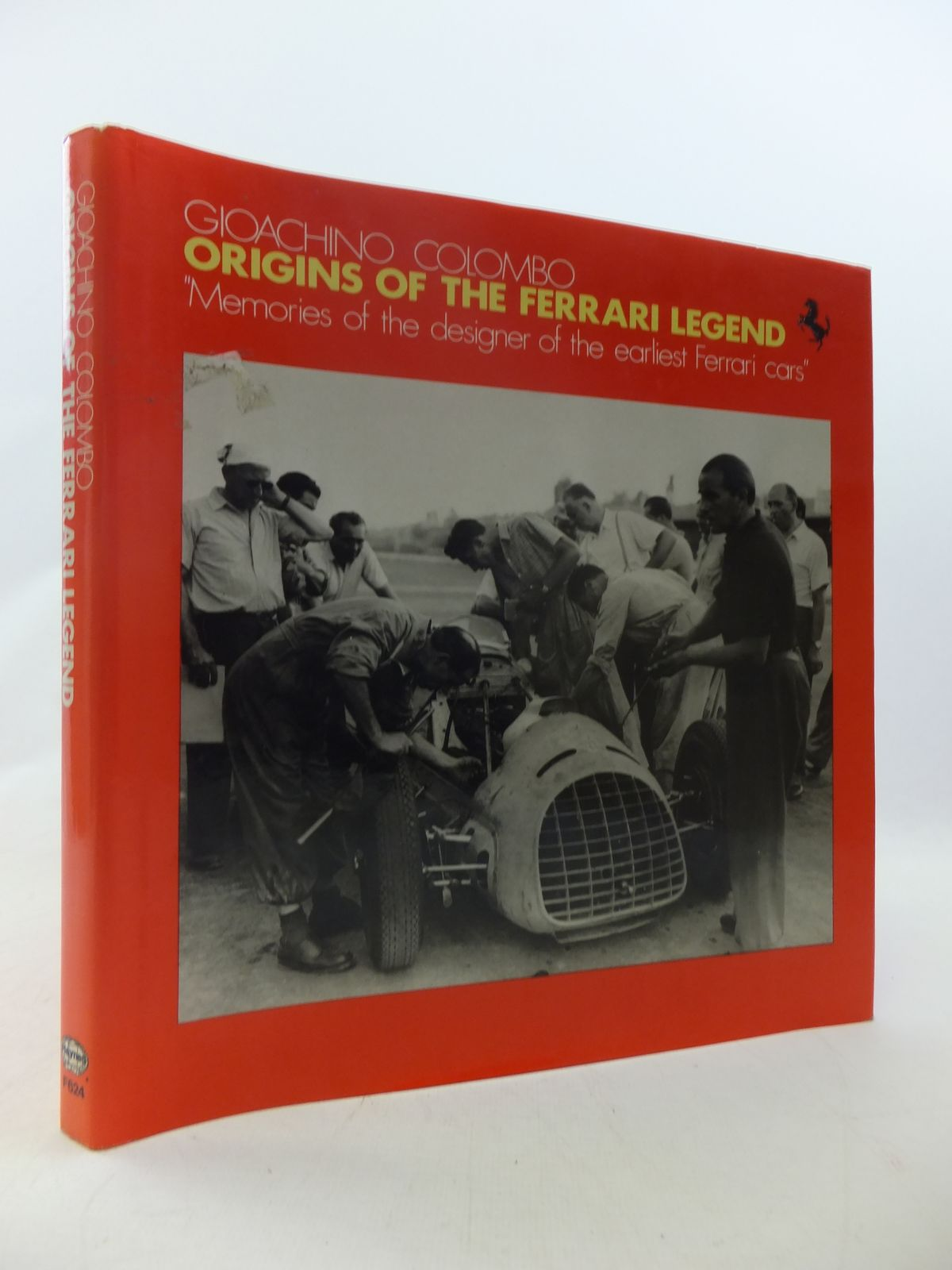 Photo of ORIGINS OF THE FERRARI LEGEND written by Columbo, Gioachino published by Haynes Publishing Group (STOCK CODE: 1808984)  for sale by Stella & Rose's Books