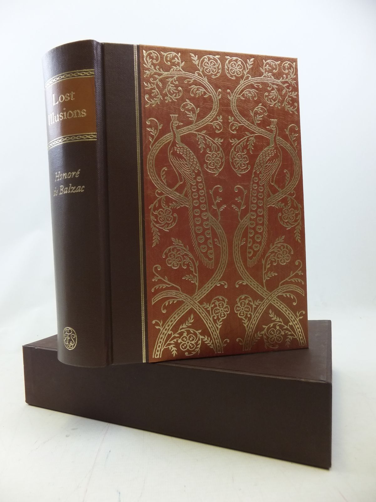 Photo of LOST ILLUSIONS written by De Balzac, Honore<br />Hunt, Herbert J.<br />Robb, Graham illustrated by Mosley, Francis published by Folio Society (STOCK CODE: 1809006)  for sale by Stella & Rose's Books