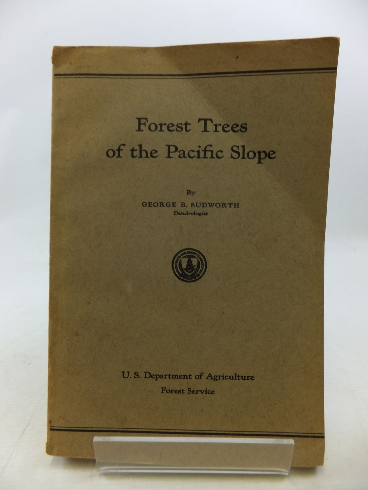 Photo of FOREST TREES OF THE PACIFIC SLOPE written by Sudworth, George B. published by Government Printing Office, Washington (STOCK CODE: 1809070)  for sale by Stella & Rose's Books