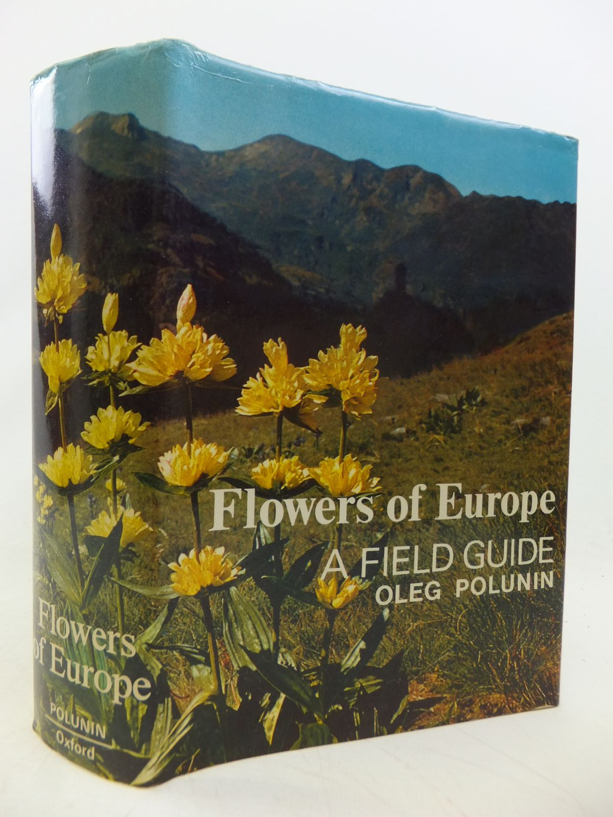 Photo of FLOWERS OF EUROPE A FIELD GUIDE written by Polunin, Oleg illustrated by Everard, Barbara published by Oxford University Press (STOCK CODE: 1809071)  for sale by Stella & Rose's Books