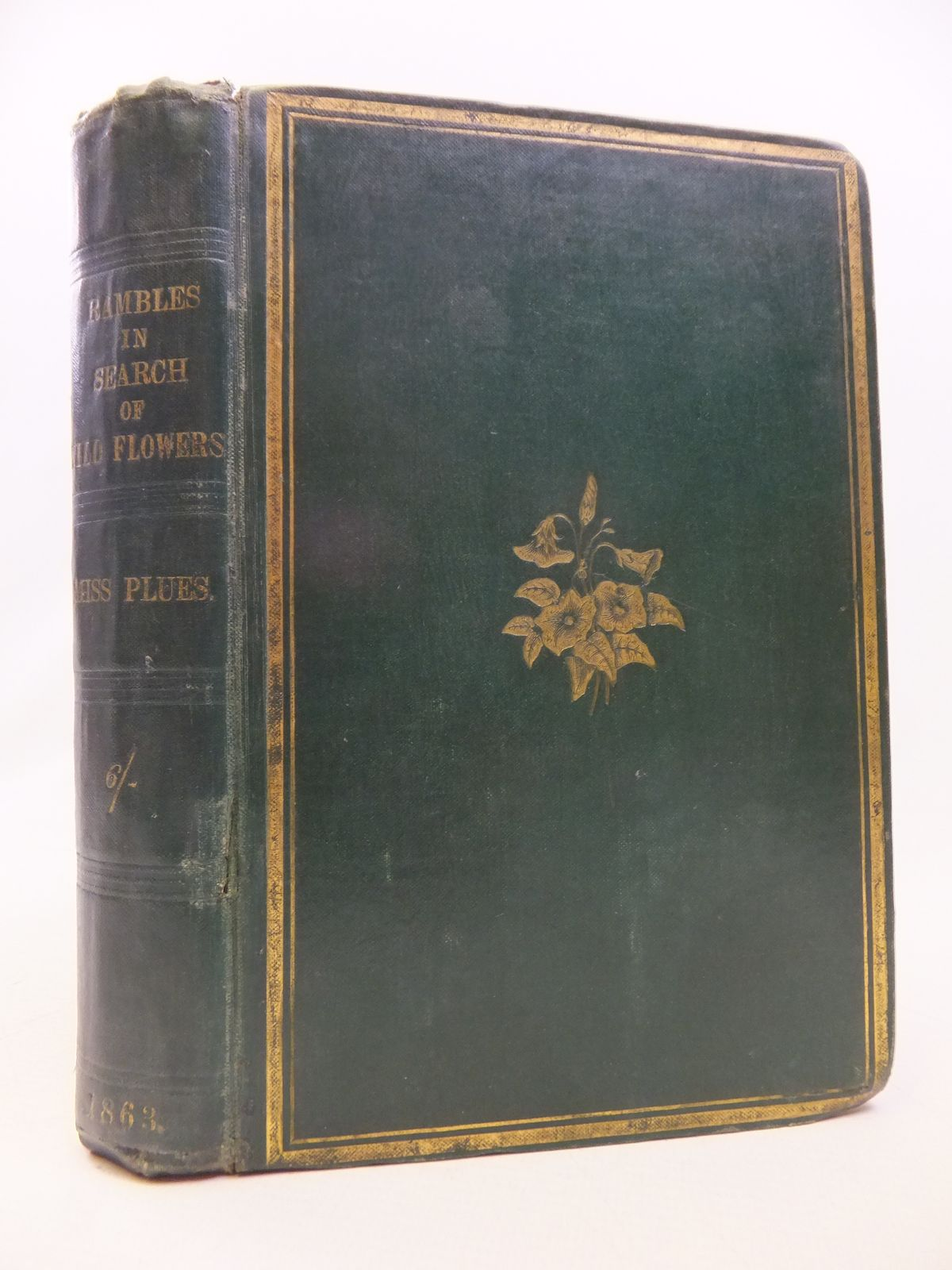 Photo of RAMBLES IN SEARCH OF WILD FLOWERS AND HOW TO DISTINGUISH THEM written by Plues, Margaret illustrated by Plues, Margaret published by Journal of Horticulture & Cottage Gardener (STOCK CODE: 1809098)  for sale by Stella & Rose's Books
