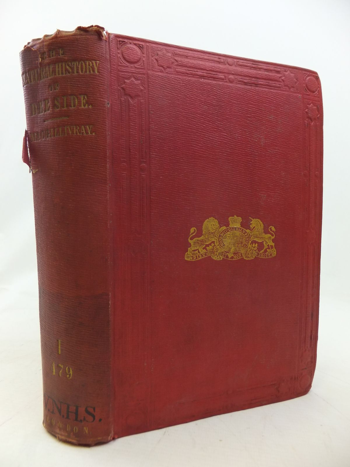 Photo of THE NATURAL HISTORY OF DEE SIDE AND BRAEMAR written by Macgillivray, William<br />Lankester, Edwin (STOCK CODE: 1809125)  for sale by Stella & Rose's Books