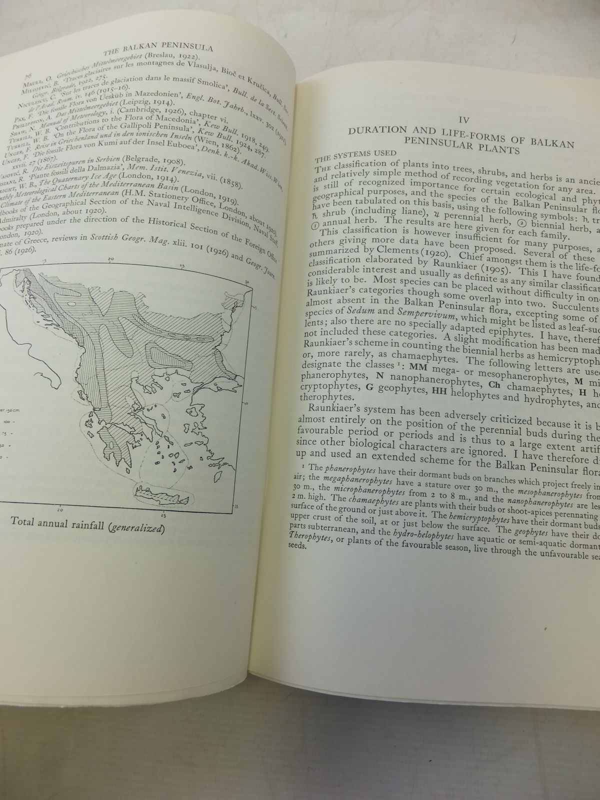 Photo of THE PLANT-LIFE OF THE BALKAN PENINSULA A PHYTOGEOGRAPHICAL STUDY written by Turrill, W.B. published by Oxford at the Clarendon Press (STOCK CODE: 1809254)  for sale by Stella & Rose's Books