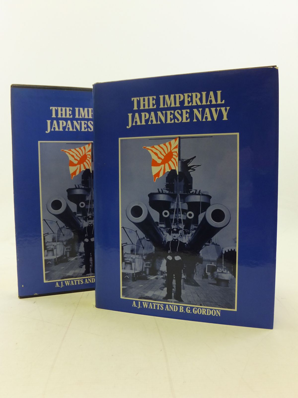 Photo of THE IMPERIAL JAPANESE NAVY written by Watts, Anthony J.<br />Gordon, Brian G. published by MacDonald (STOCK CODE: 1809336)  for sale by Stella & Rose's Books