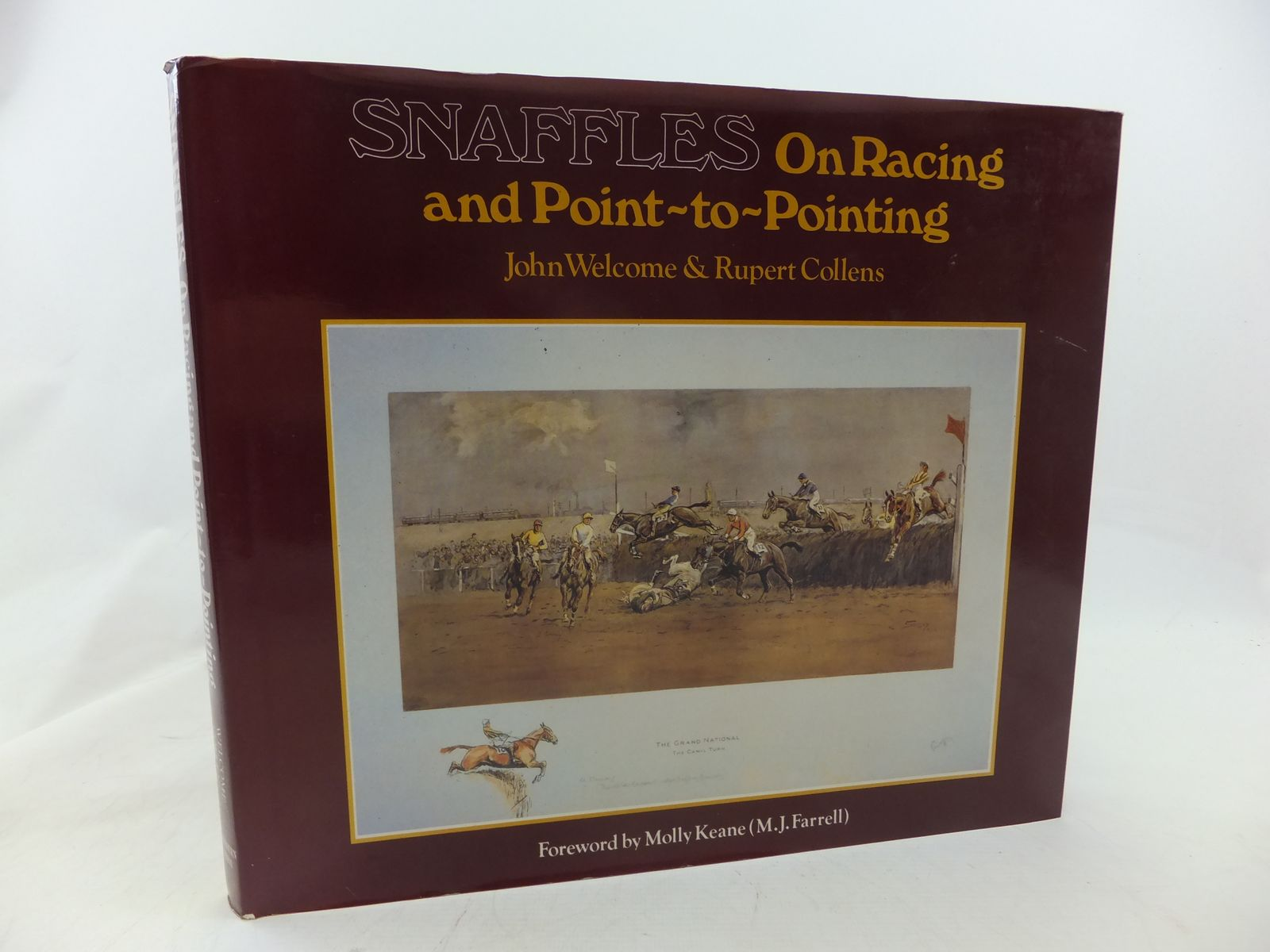 Photo of SNAFFLES ON RACING AND POINT TO POINTING written by Welcome, John<br />Collens, Rupert illustrated by Snaffles, published by The Lambourn Press (STOCK CODE: 1809402)  for sale by Stella & Rose's Books