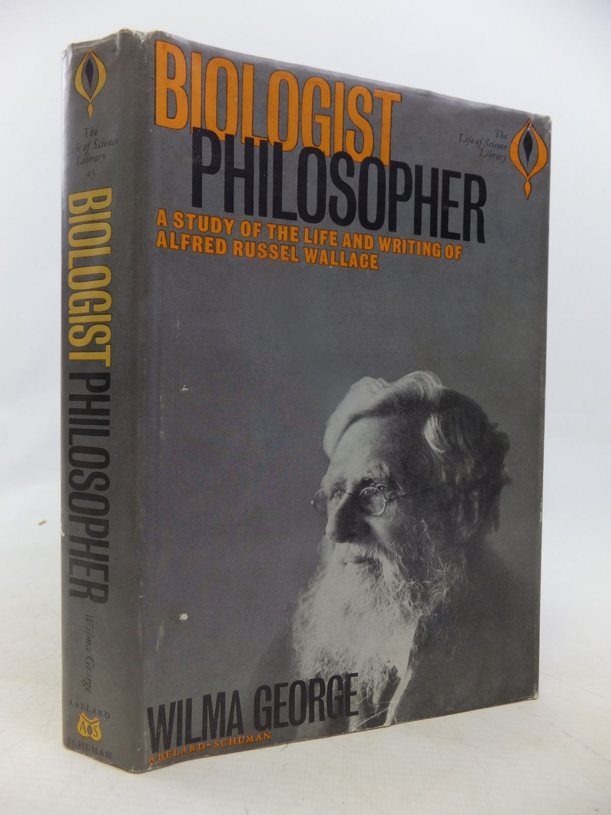 Photo of BIOLOGIST PHILOSOPHER: A STUDY OF THE LIFE AND WRITINGS OF ALFRED RUSSEL WALLACE written by George, Wilma published by Abelard-Schuman (STOCK CODE: 1809427)  for sale by Stella & Rose's Books