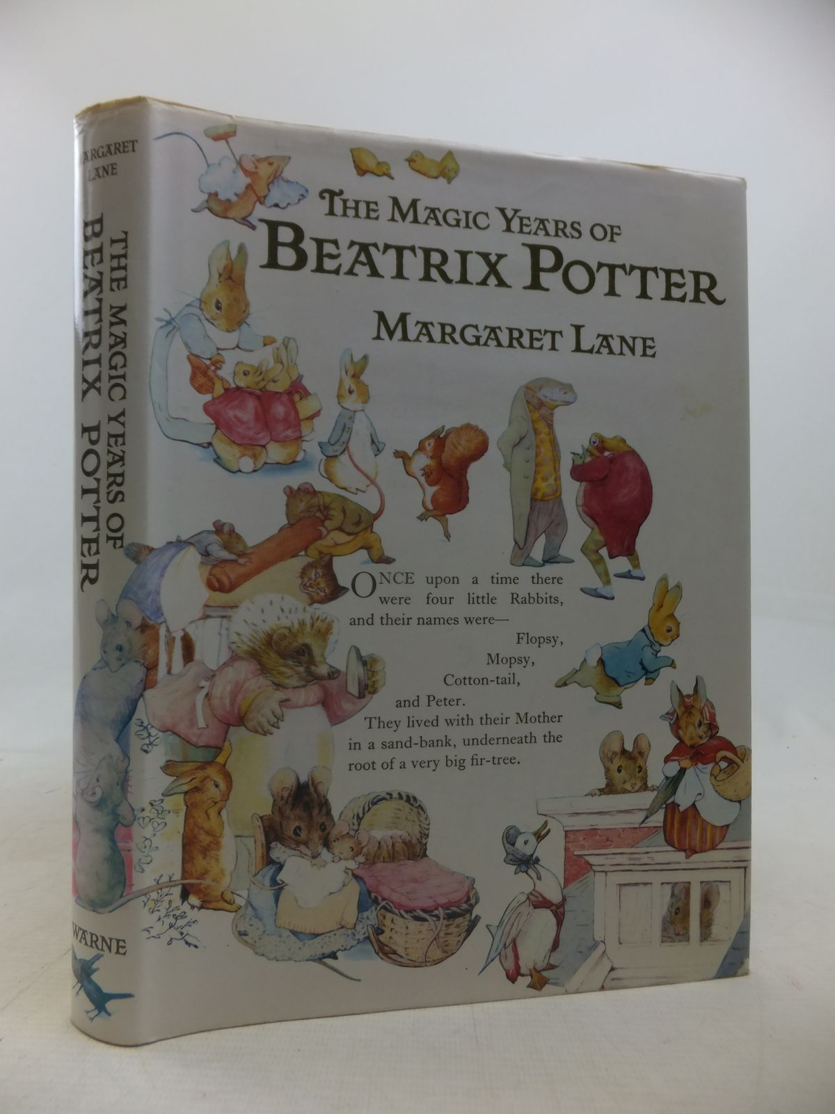 Photo of THE MAGIC YEARS OF BEATRIX POTTER written by Lane, Margaret illustrated by Potter, Beatrix published by Frederick Warne (Publishers) Ltd. (STOCK CODE: 1809631)  for sale by Stella & Rose's Books