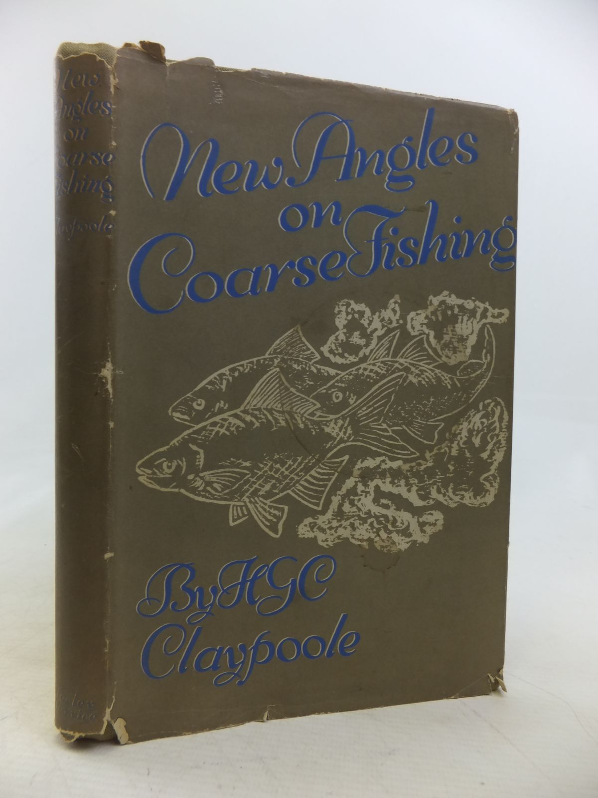 Photo of NEW ANGLES ON COARSE FISHING written by Claypoole, H.G.C. illustrated by Claypoole, H.G.C. published by Seeley, Service & Co. (STOCK CODE: 1809697)  for sale by Stella & Rose's Books