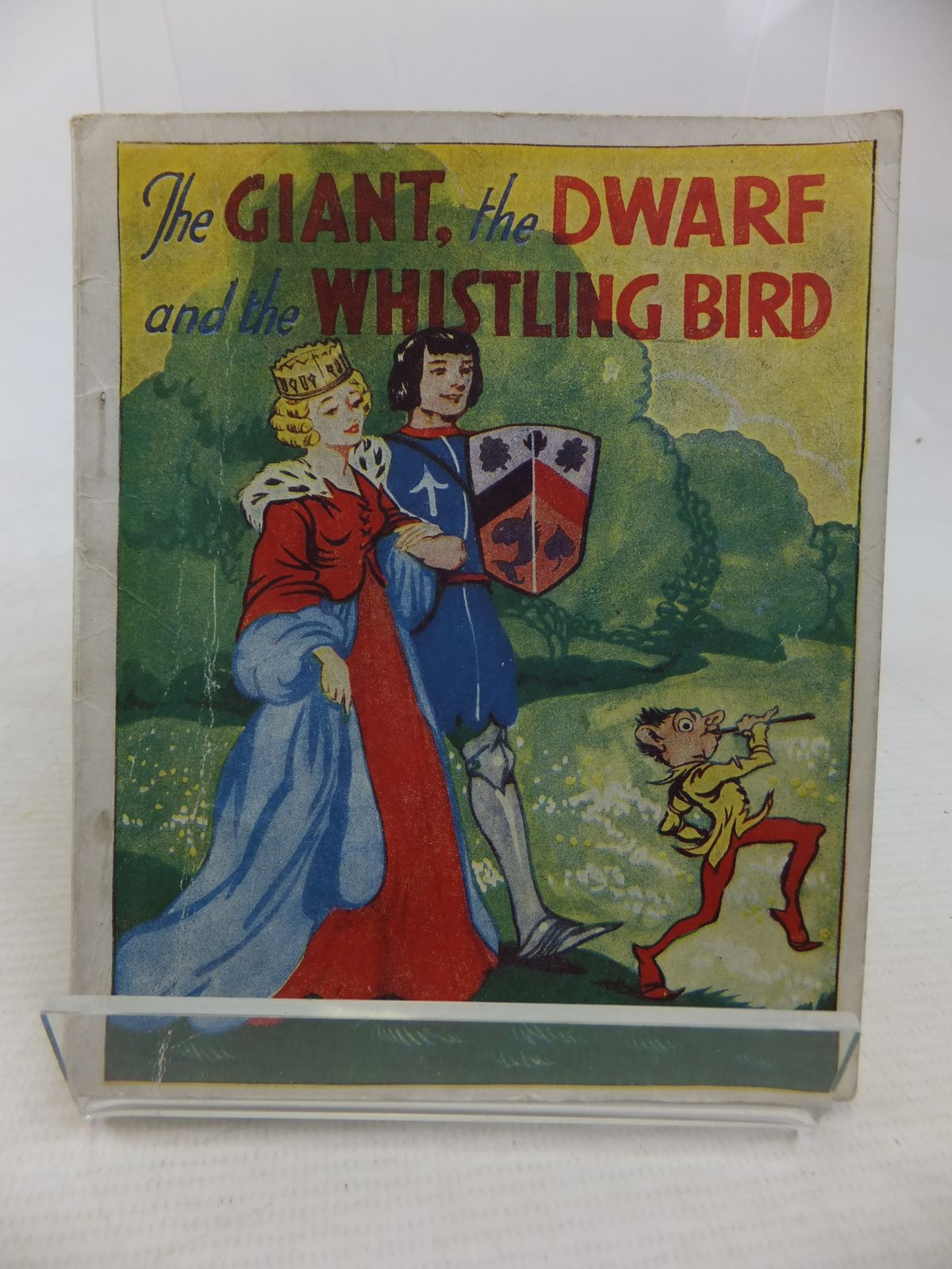 Photo of THE GIANT, THE DWARF AND THE WHISTLING BIRD illustrated by Edgecombe Jenkins, V. published by The Featherstone Press Ltd. (STOCK CODE: 1809779)  for sale by Stella & Rose's Books